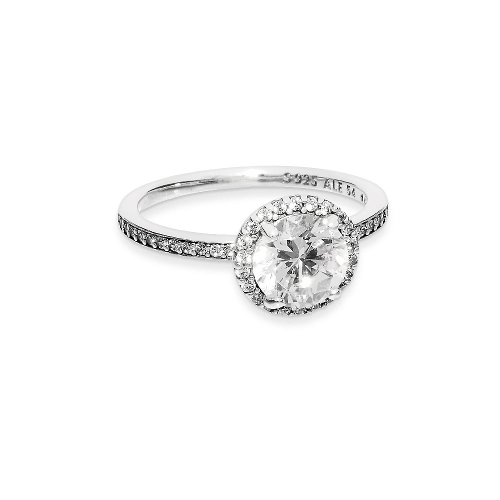 Round Sparkle Halo Ring Regarding 2018 Round Sparkle Halo Rings (View 22 of 25)