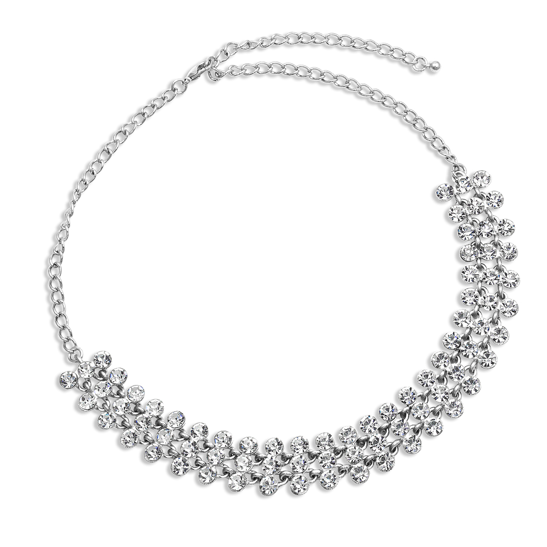 Search Results For: 'silver Necklace Slider Chokers For Women Pertaining To Current Woven Fabric Choker Slider Necklaces (View 5 of 25)