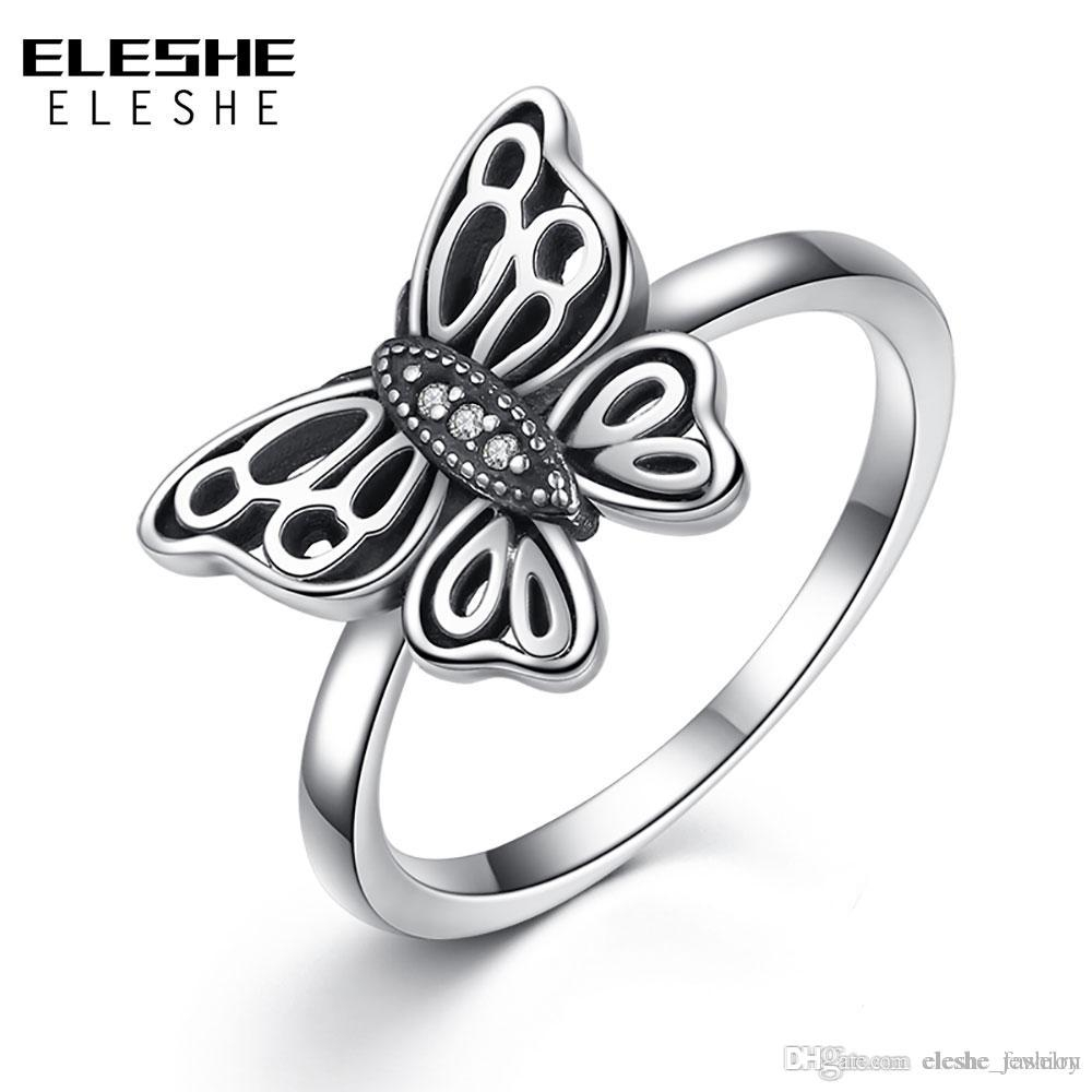 $seoproductname For Most Recently Released Sparkling Butterfly Rings (View 4 of 25)