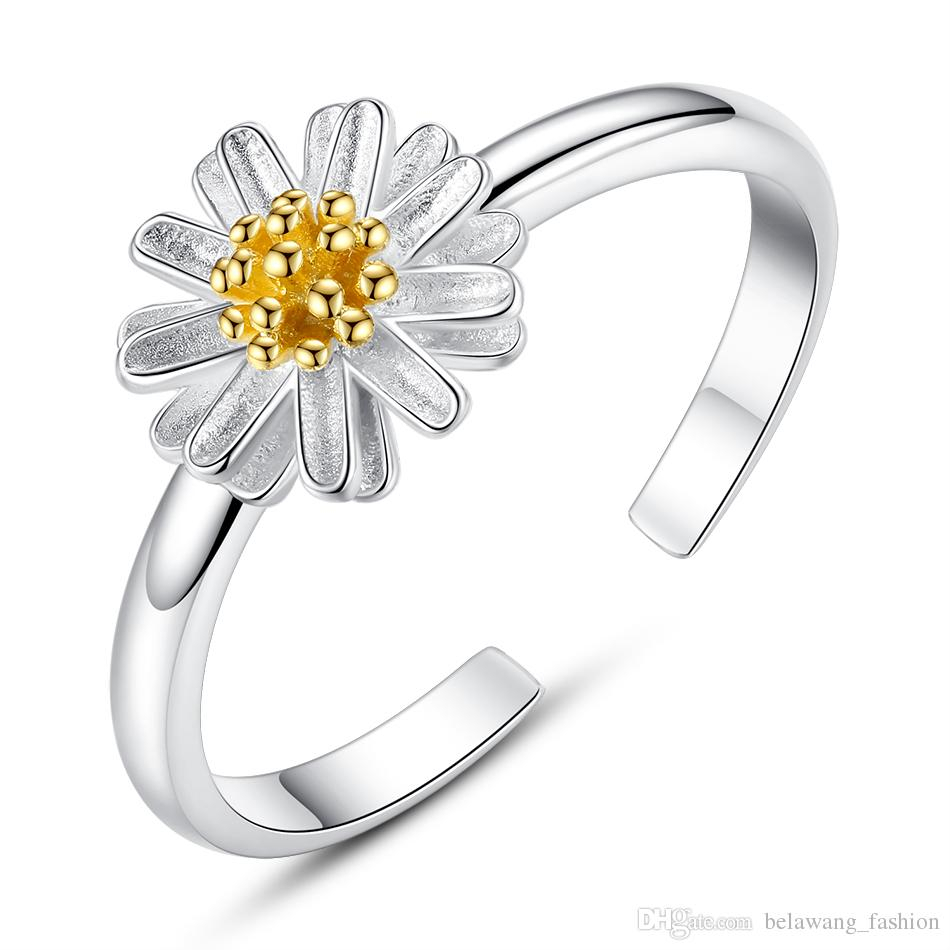 $seoproductname In Latest Classic Daisy Flower Band Rings (View 6 of 25)
