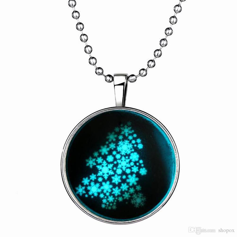 $Seoproductname Regarding Most Recent Twinkling Christmas Tree Locket Element Necklaces (View 1 of 25)