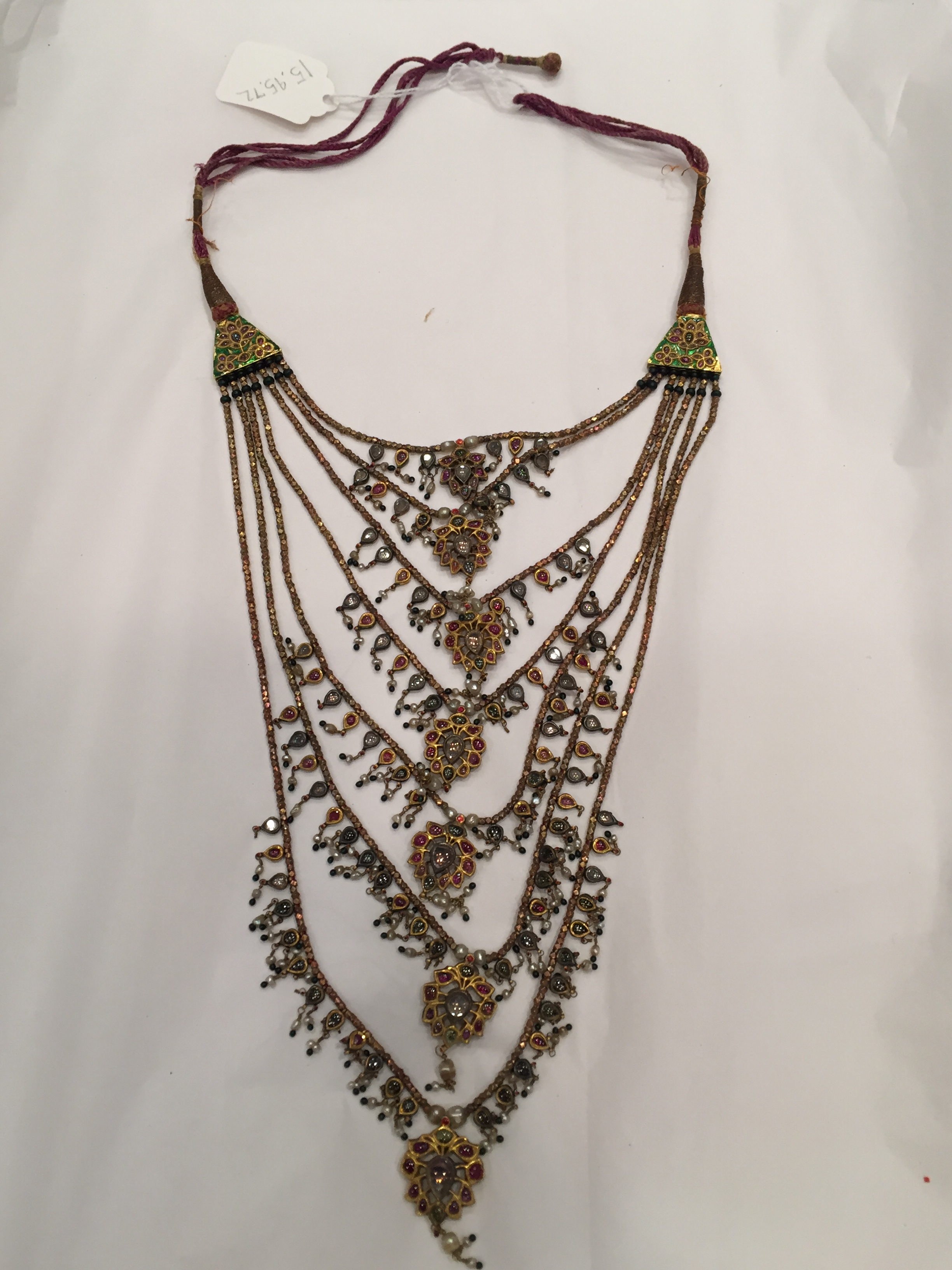 Seven Stranded Necklace (Satlari) | The Met In 2019 Rock Crystal April Droplet Pendant Necklaces (View 21 of 25)
