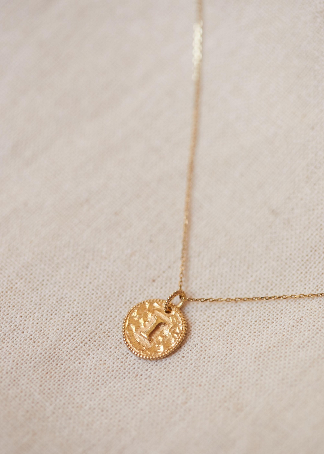 Sézane – Sara Pendant – Letters I To P Inside Most Recently Released Letter Z Alphabet Locket Element Necklaces (Gallery 24 of 25)