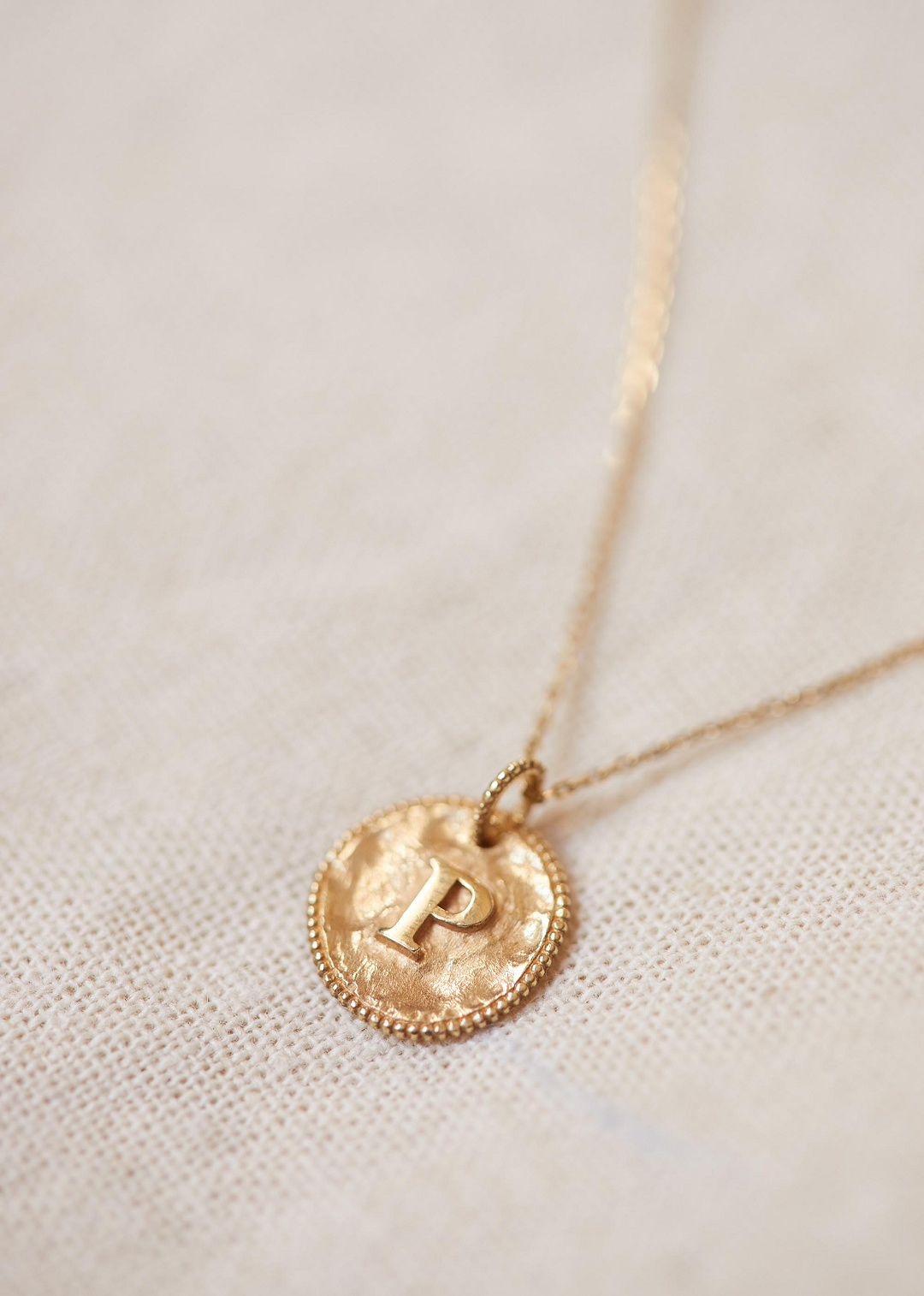 Sézane – Sara Pendant – Letters I To P Throughout Most Up To Date Letter J Alphabet Locket Element Necklaces (Gallery 8 of 25)