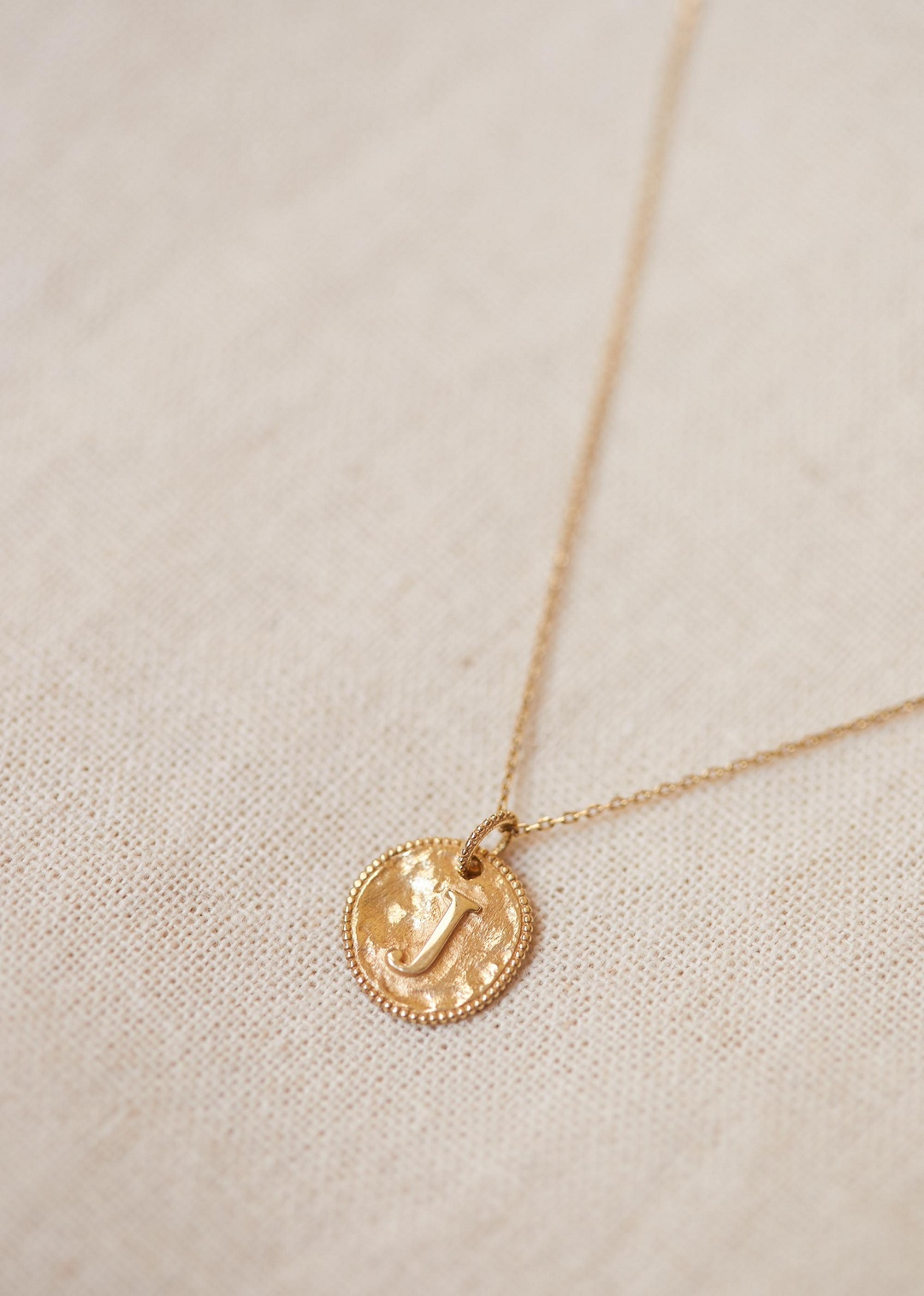 Sézane – Sara Pendant – Letters I To P With Regard To Most Current Letter L Alphabet Locket Element Necklaces (Gallery 24 of 25)
