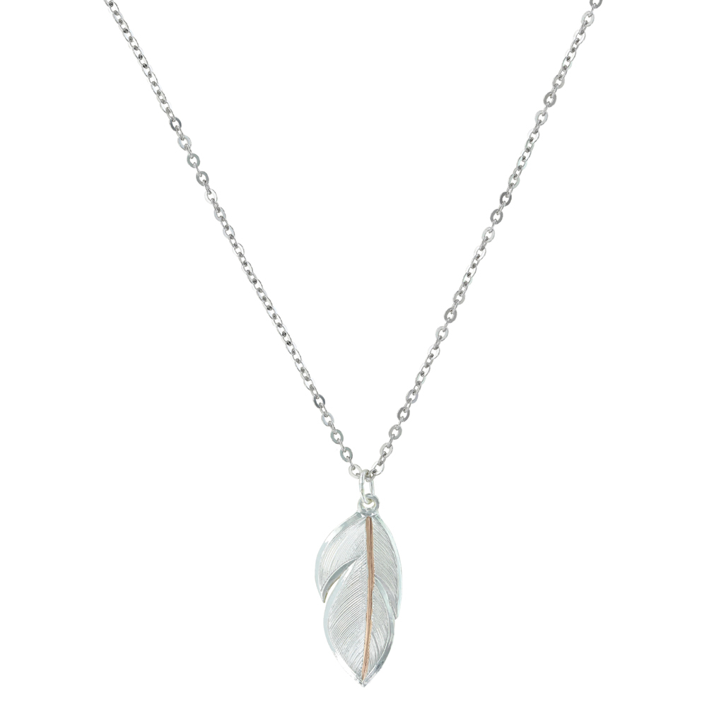 Shimmering Feather Jewelry Set | Montana Silversmiths With Regard To Most Current Shimmering Feather Pendant Necklaces (View 15 of 25)