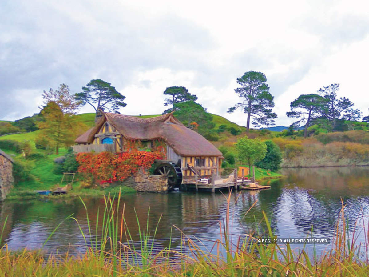 Shire' From Lord Of The Rings Has Now Turned Into A Tourist Spot In Best And Newest Oak Leaf Double Rings (View 13 of 25)