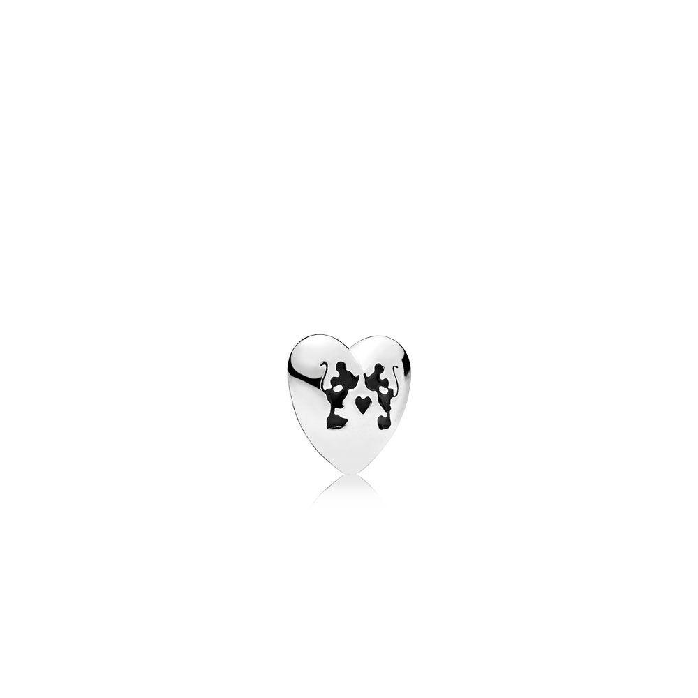 Shop Cheap Pandora Shine Collection 2018 Disney,mickey,minnie Kiss Pertaining To 2020 Disney Sparkling Mickey Icon Petite Locket Charm Necklaces (Gallery 25 of 25)