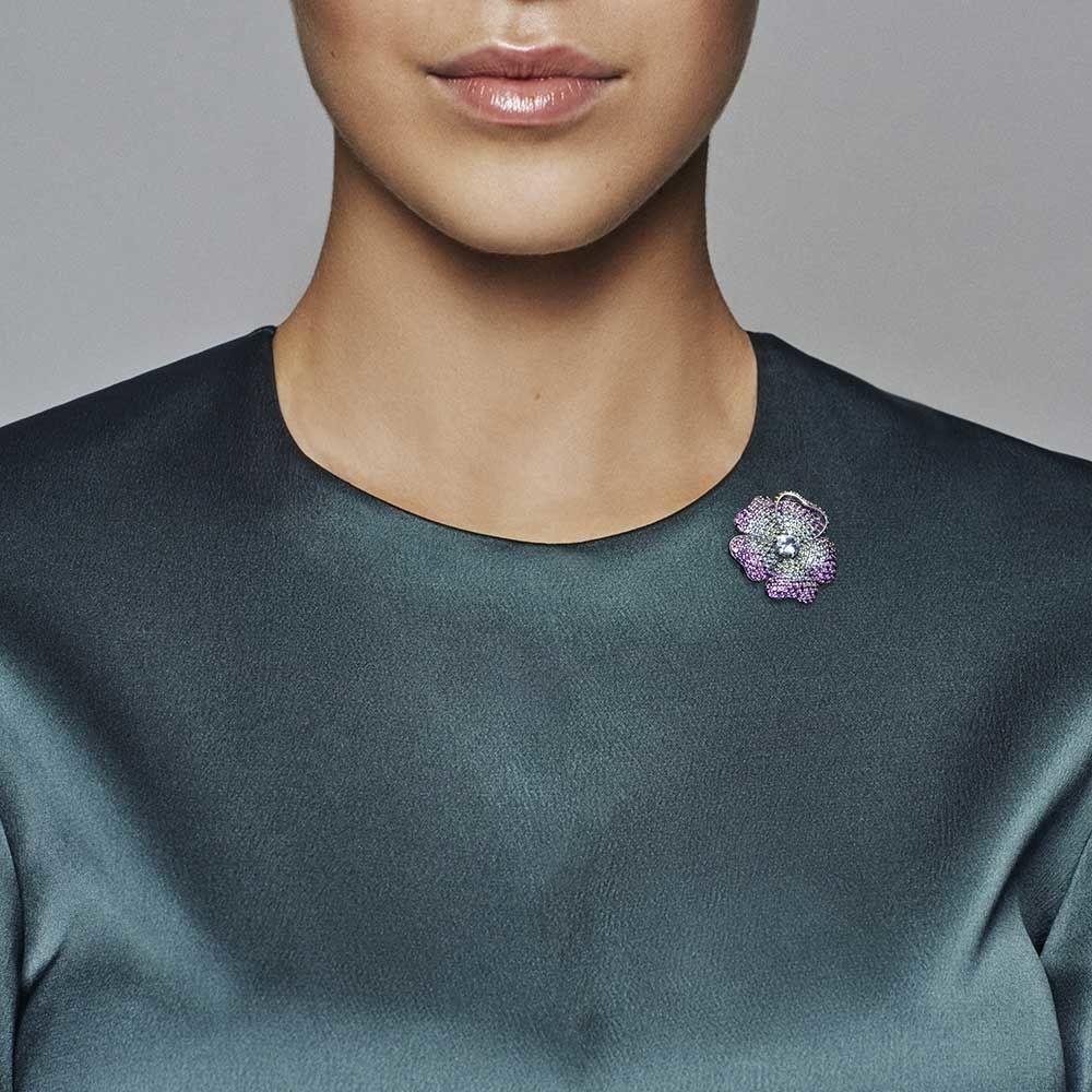 Shop Cheap Pandora Shine Collection 2018 Glorious Bloom Pendant Regarding 2019 Glorious Bloom Pendant Necklaces (View 4 of 25)