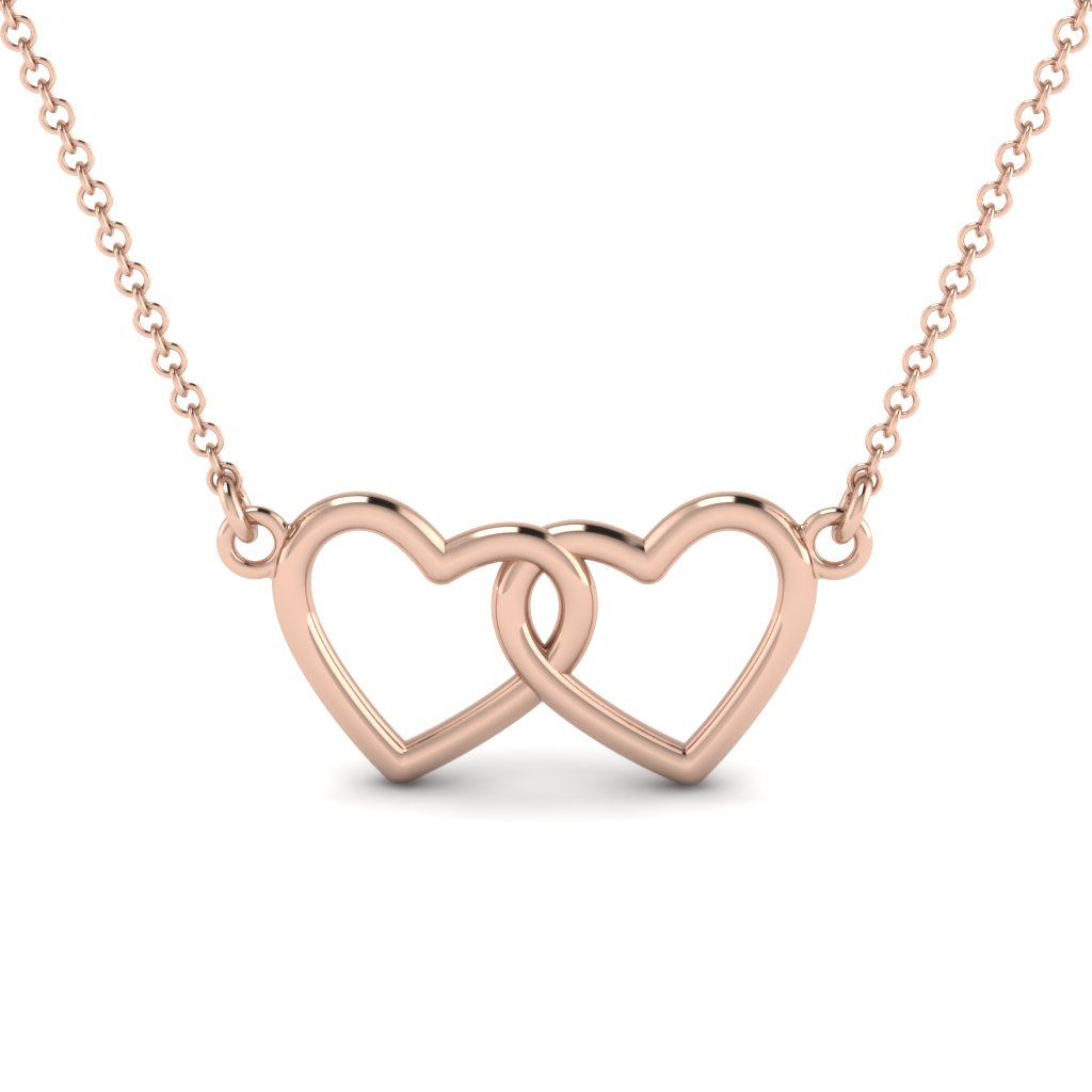 Shop For Custom Designed Heart Pendants | Fascinating Diamonds Within Most Up To Date Joined Hearts Necklaces (Gallery 13 of 25)