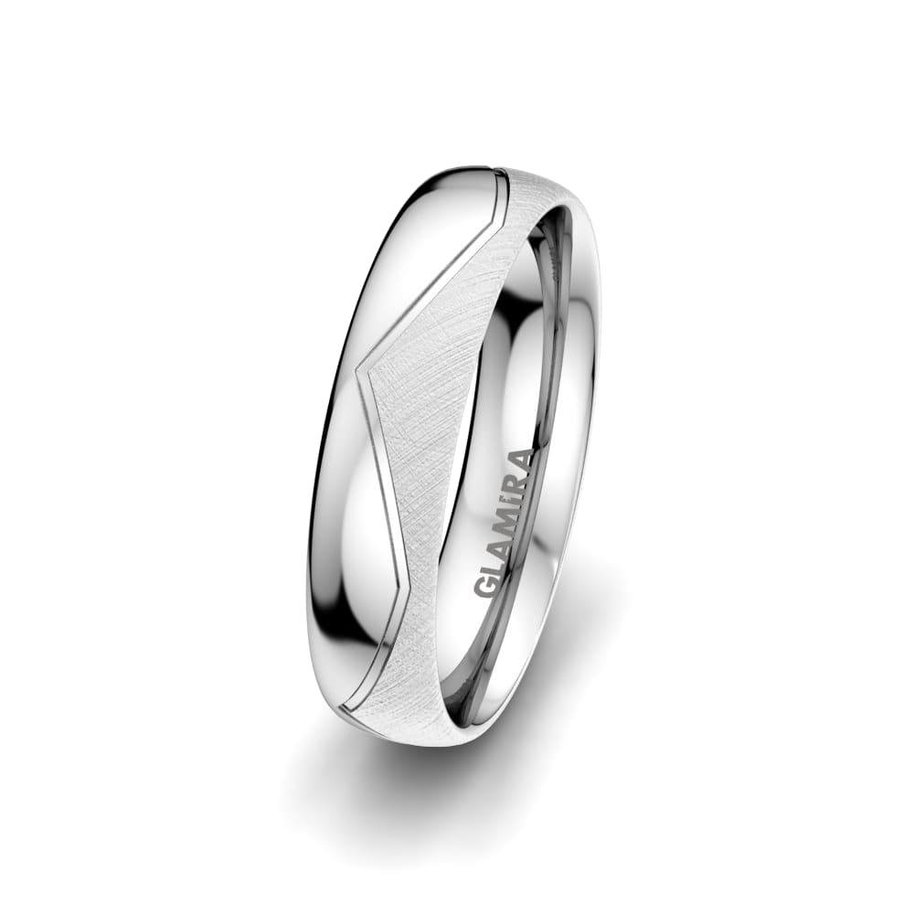 Shop For Men's Ring Exotic Line 5 Mm | Glamira (View 22 of 25)