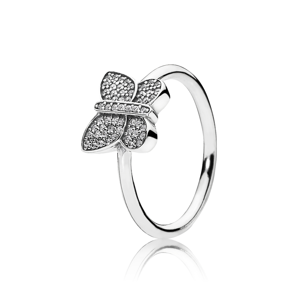 Featured Photo of Sparkling Butterfly Rings