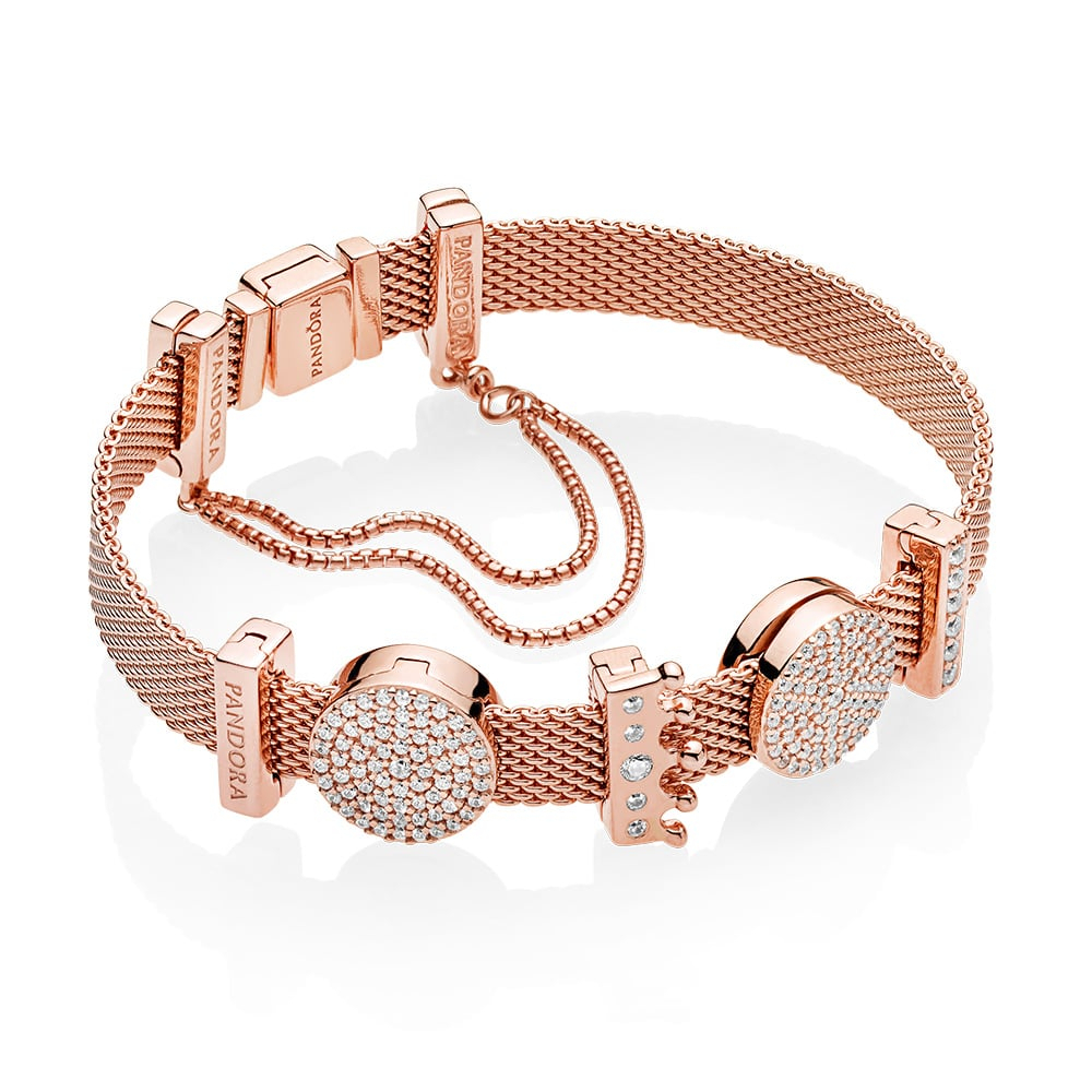 Shop The New Pandora Reflexions Collection | Popsugar Fashion Australia Regarding 2020 Pandora Reflexions Mesh Choker Necklaces (View 3 of 25)