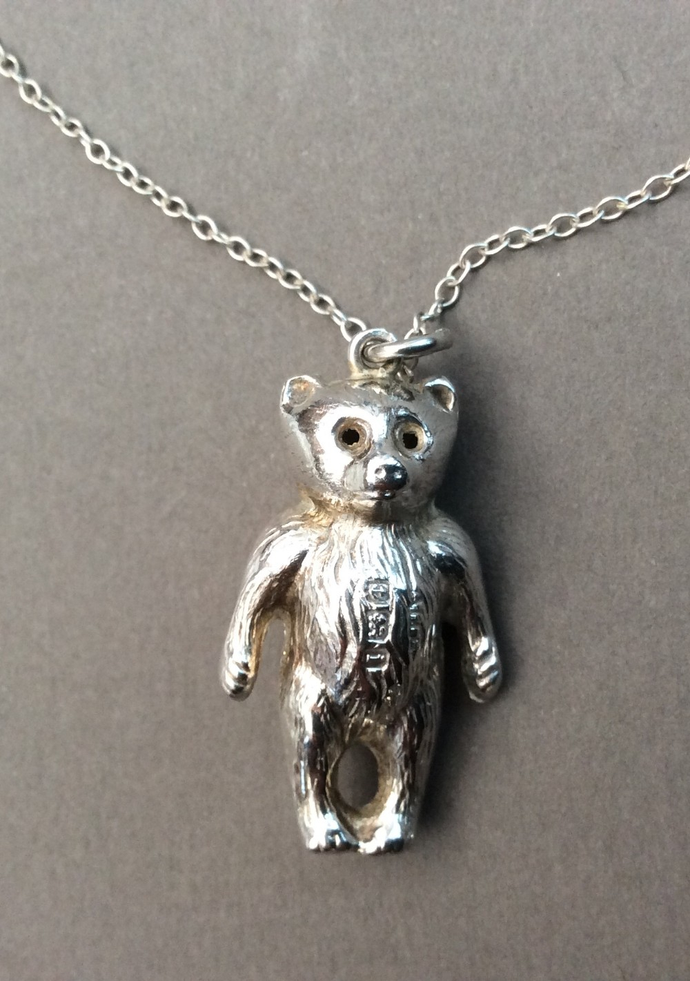 Silver Teddy Bear Pendant 1908. | 575372 | Sellingantiques.co (View 14 of 25)