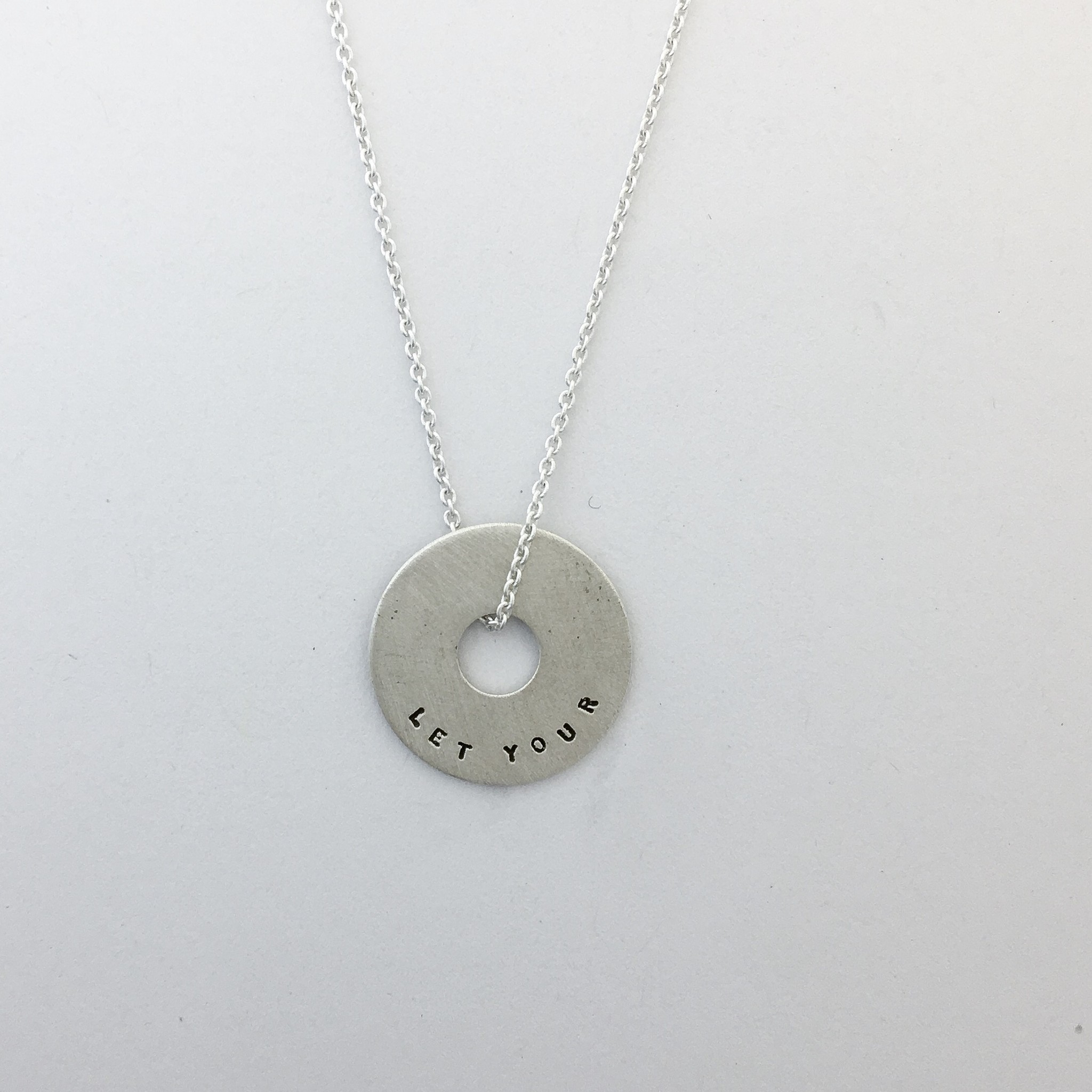 "Small ""let Your Light Shine"" Halo Necklace Within Most Up To Date Square Sparkle Halo Necklaces (View 21 of 25)"