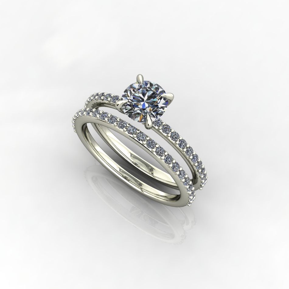 Smile, Sparkle, Shine In Latest Sparkling Twisted Lines Rings (Gallery 22 of 25)