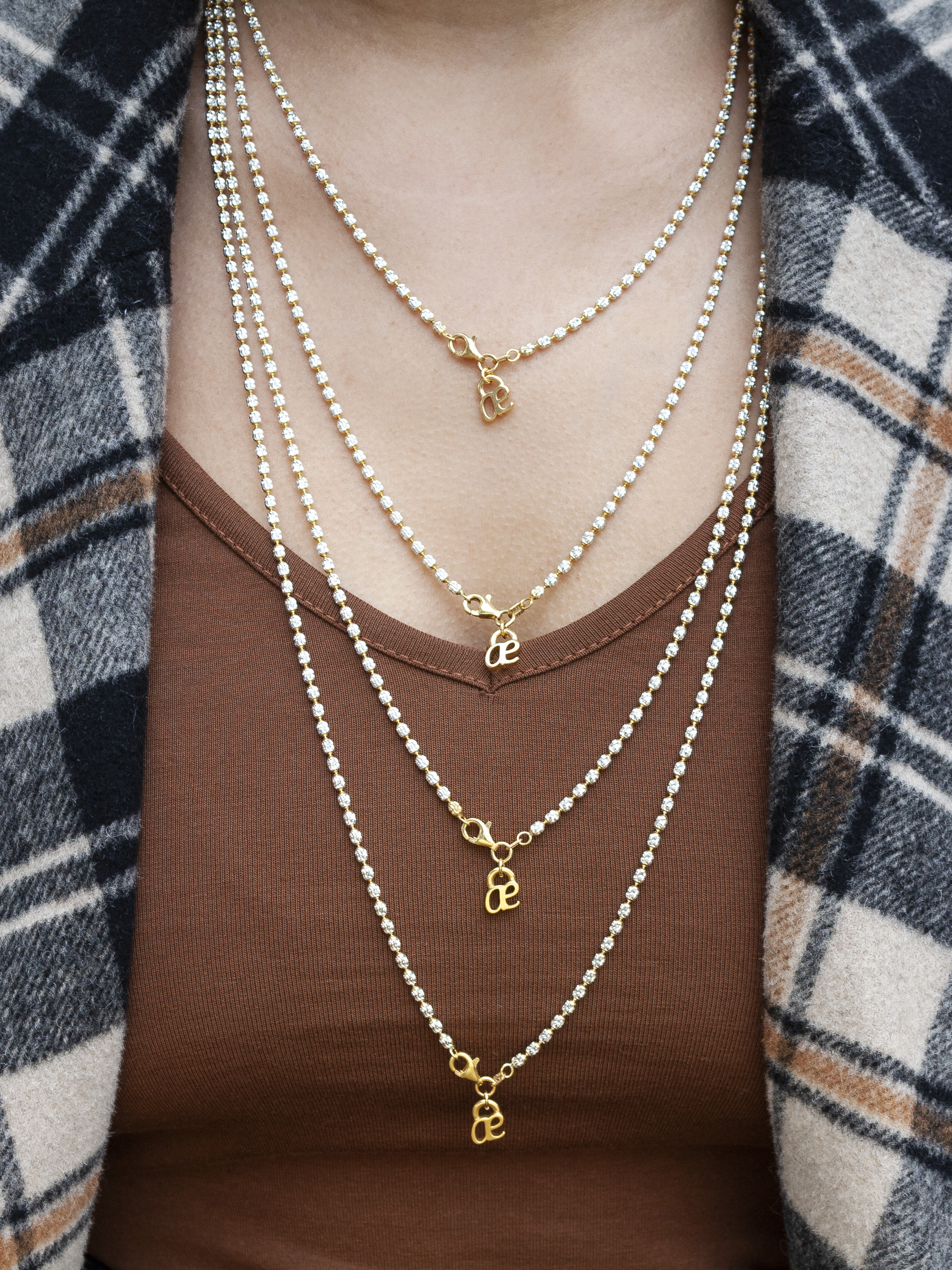 Sparkle Chain In Most Popular Sparkling Pattern Necklaces (View 7 of 25)