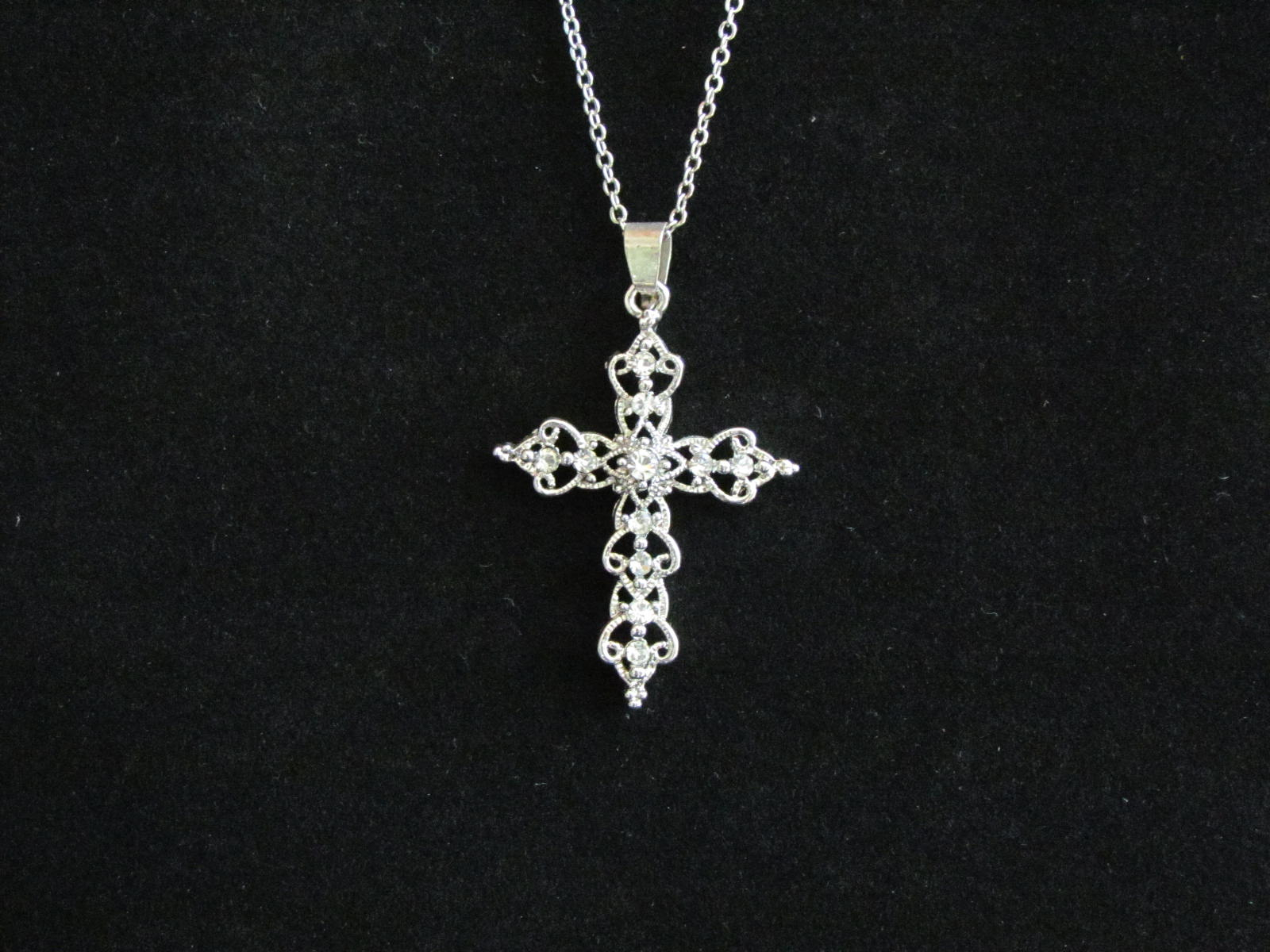 Sparkling Cross Necklace – 1 In Most Recent Sparkling Cross Pendant Necklaces (View 15 of 25)