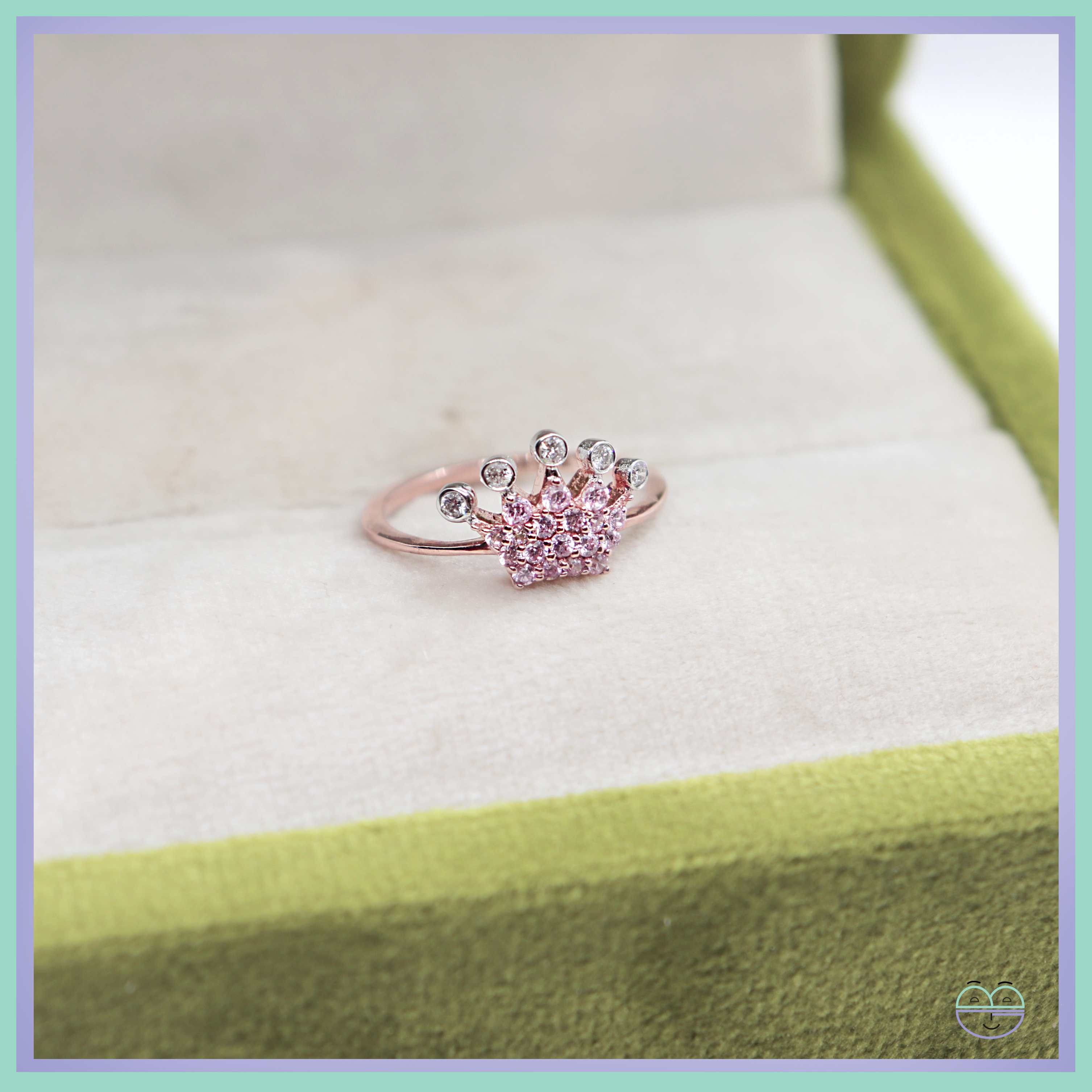 Sparkling Crown Ring For Most Recently Released Pink Sparkling Crown Rings (View 6 of 25)