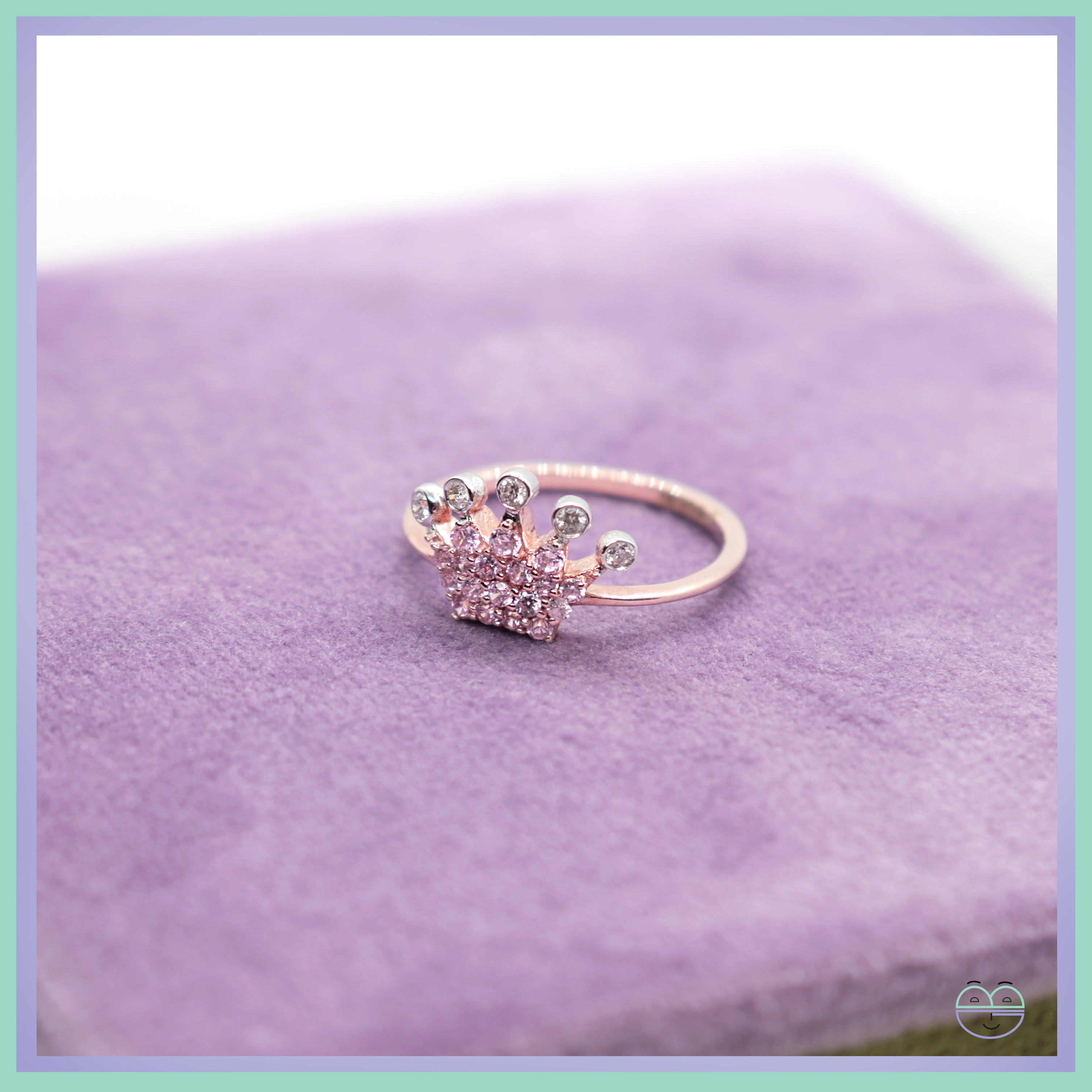 Sparkling Crown Ring Within 2017 Pink Sparkling Crown Rings (View 7 of 25)