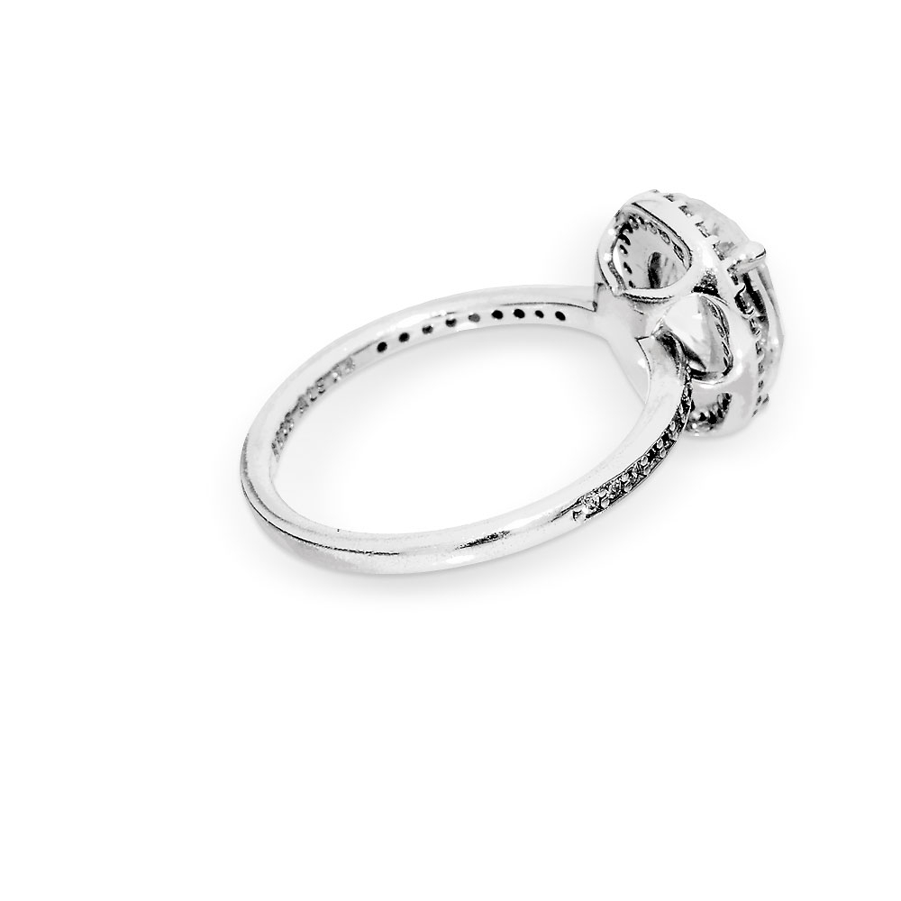 Sparkling Teardrop Halo Ring For Best And Newest Sparkling Teardrop Halo Rings (Gallery 10 of 25)