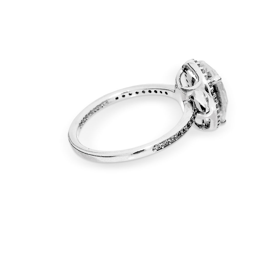 Sparkling Teardrop Halo Ring Intended For 2018 Sparkling Teardrop Halo Rings (View 11 of 25)