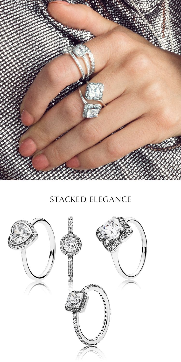 Stacked Elegance! Embrace The Trend For Heritage Inspired Jewelry In Latest Sparkling Twisted Lines Rings (View 10 of 25)