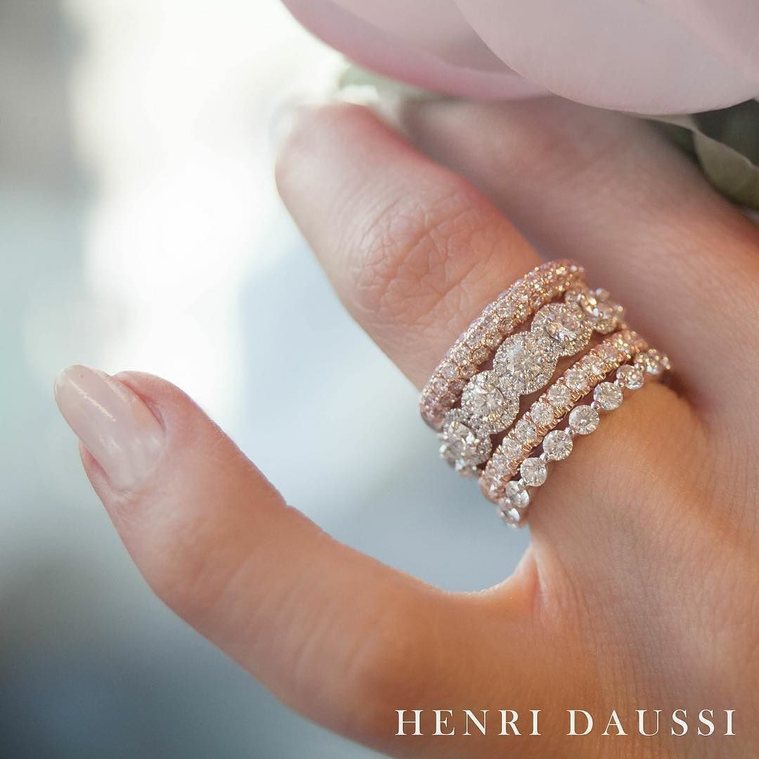 Stacked Engagement Ring Elegant Add A Touch Of Sparkle To Your Inside Most Current Elegant Sparkle Rings (Gallery 22 of 25)