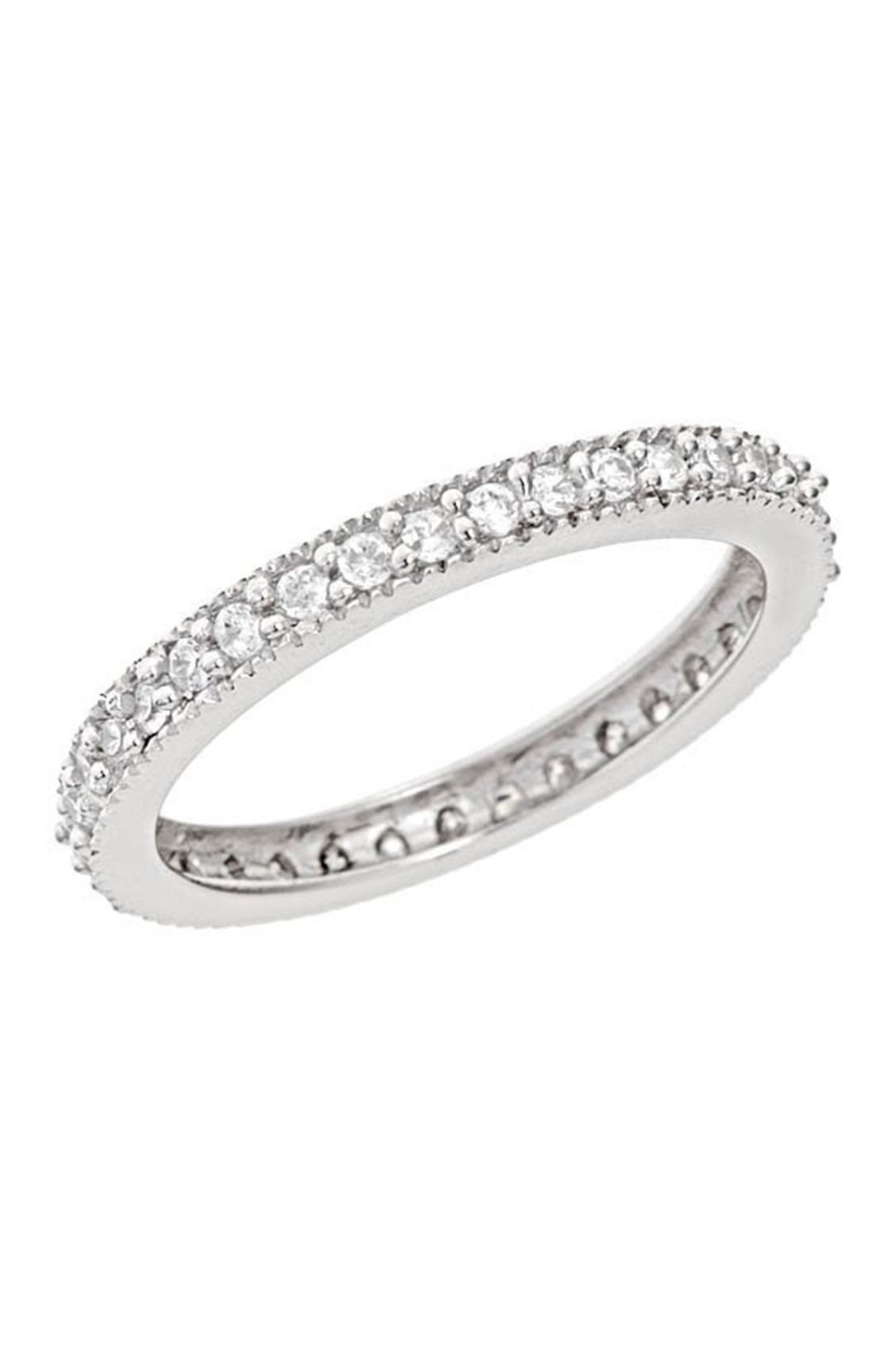 Featured Photo of Sparkling Pavé Band Rings