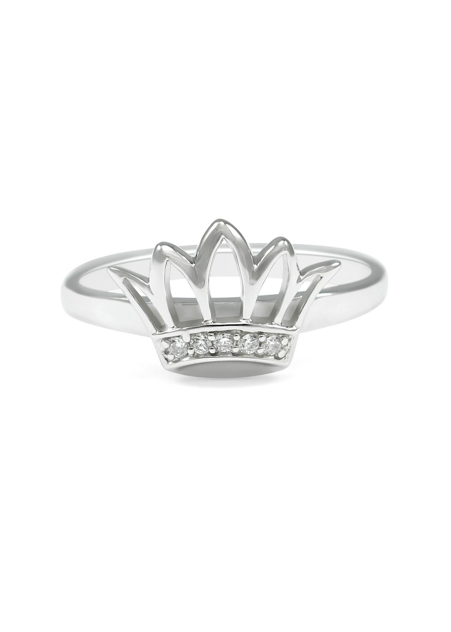 Sterling Silver Crown Ring | Products | Anillos, Ropa, Accesorios With 2017 Polished Crown Rings (Gallery 14 of 25)