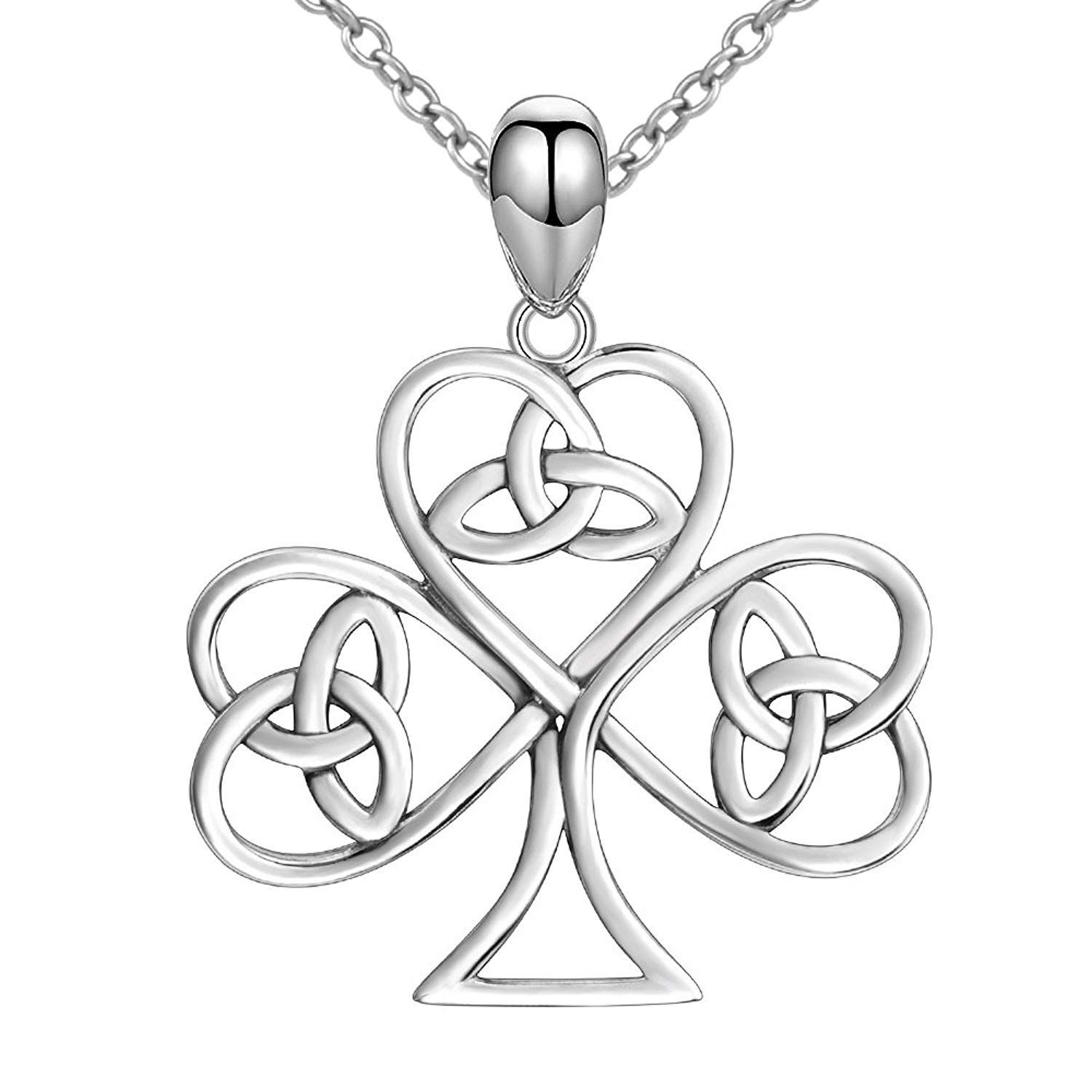 Strollgirl 925 Real Sterling Silver Charm Tree Of Life Celtic Knot With Regard To Best And Newest Knotted Heart Pendant Necklaces (Gallery 14 of 25)