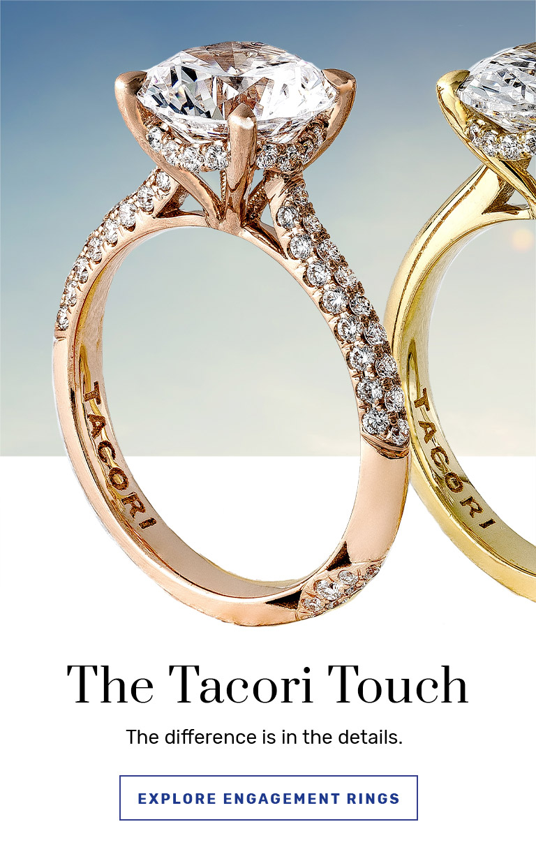 Tacori Engagement Rings, Diamond Wedding Rings & Fine Jewelry In Most Recent Composite Diamond Five Stone Anniversary Bands In White Gold (Gallery 15 of 25)