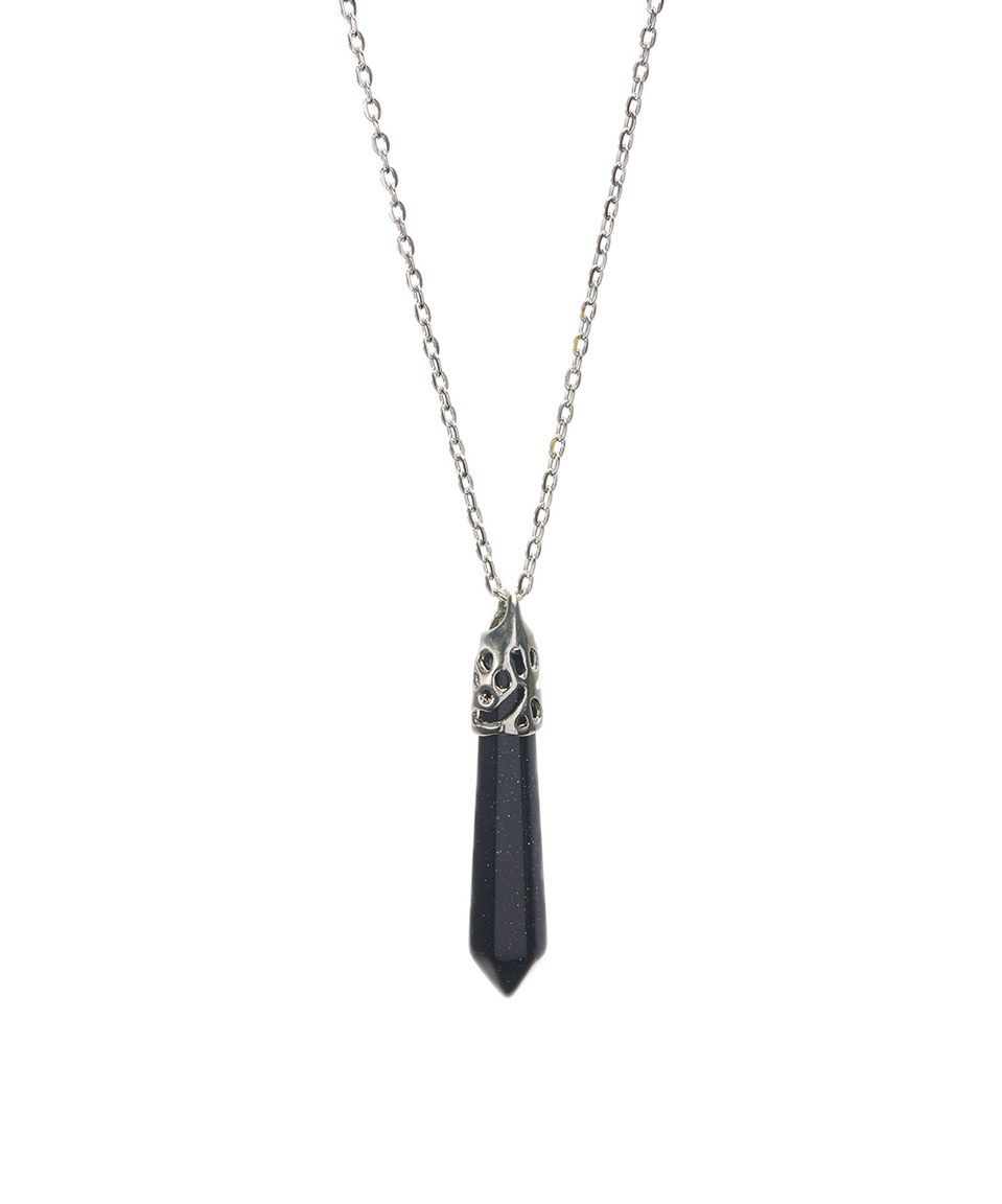 Take A Look At This Dark Blue Sparkle Stone Capped Pendant Necklace Intended For Newest Sparkling Stones Pendant Necklaces (Gallery 6 of 25)