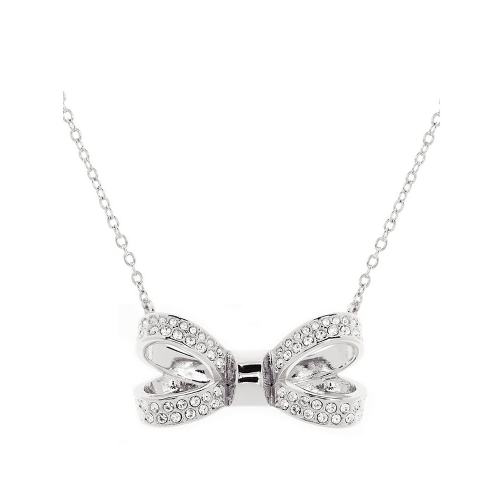 Ted Baker Bow Necklace Throughout 2019 Sparkling Bow Necklaces (View 24 of 25)