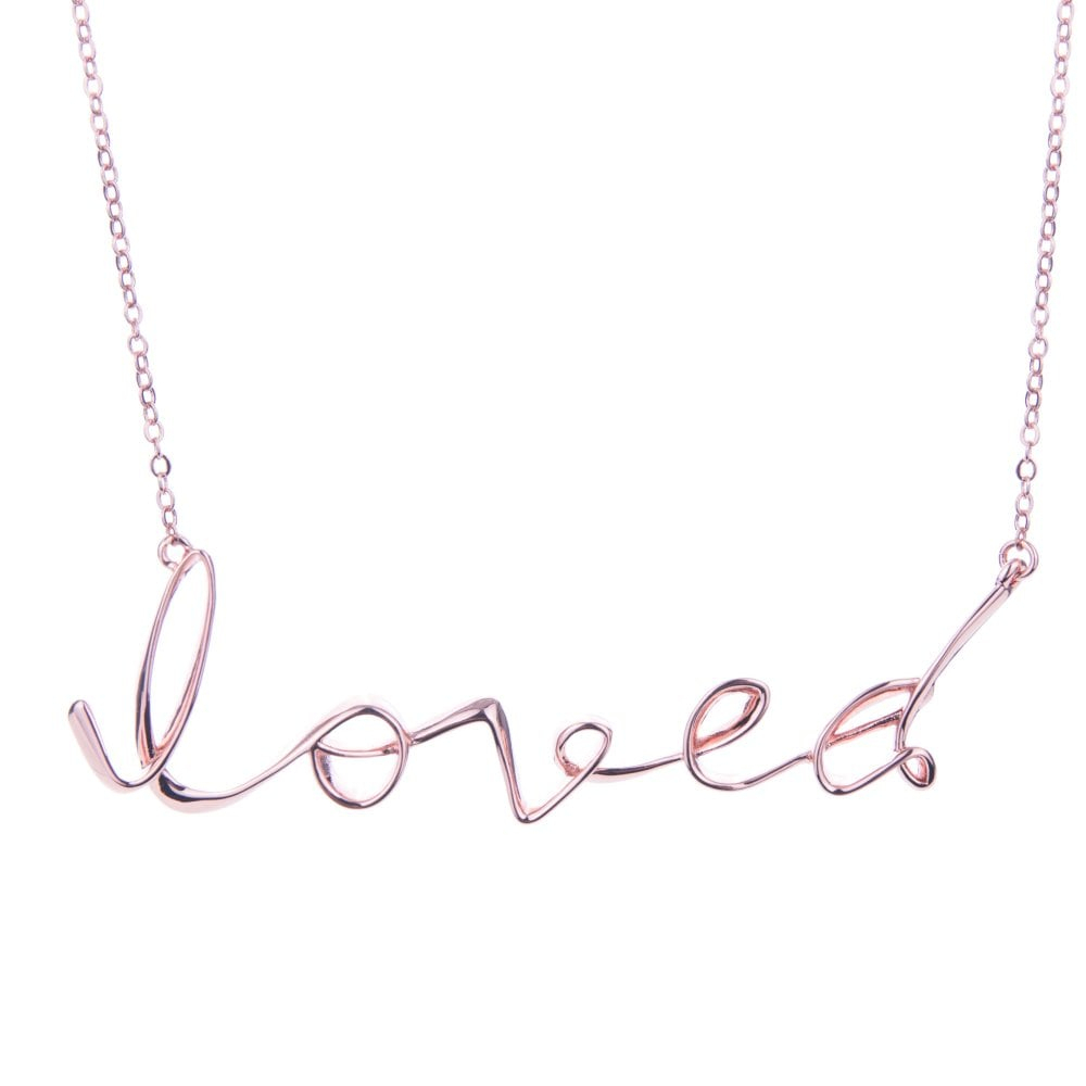 Ted Baker Jewellery Larna Necklace Pertaining To Newest Loved Script Necklaces (View 23 of 25)