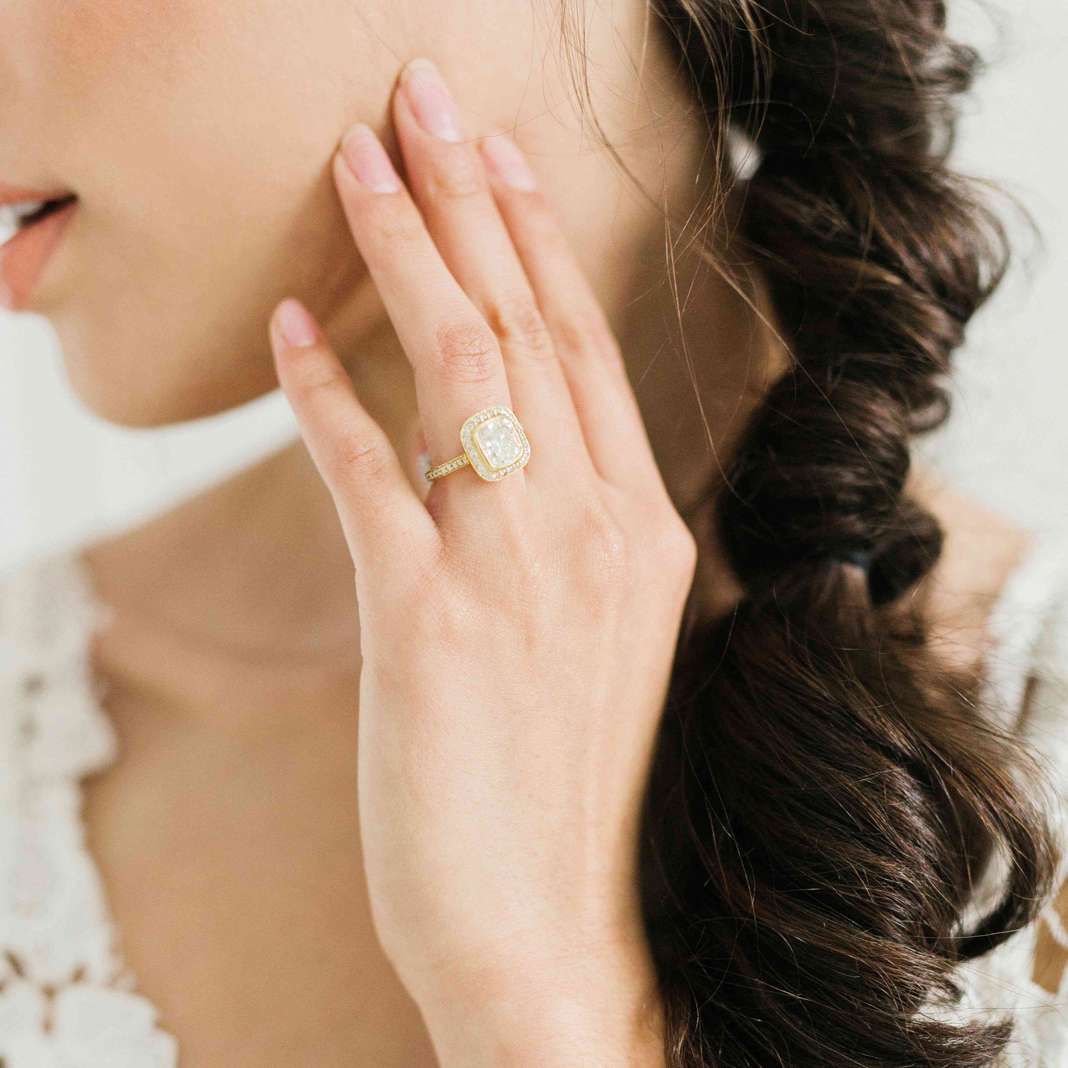 The 10 Most Popular Engagement Ring Cuts To Set Your Stone Apart Within 2018 Sparkling Twisted Lines Rings (View 15 of 25)