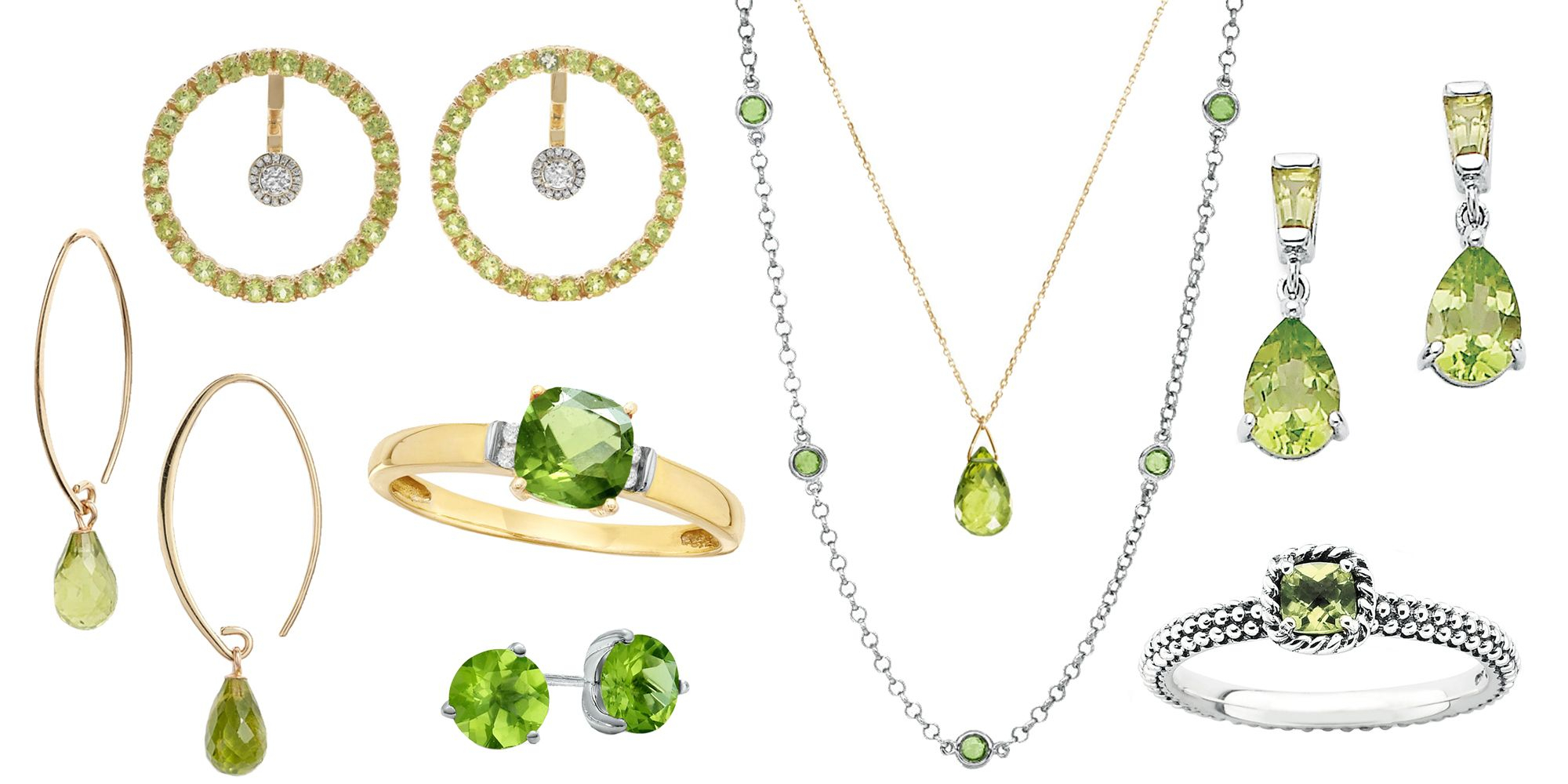 The Best Birthstone Jewelry To Gift For August Birthdays In Recent Royal Green Crystal May Droplet Pendant Necklaces (View 22 of 25)