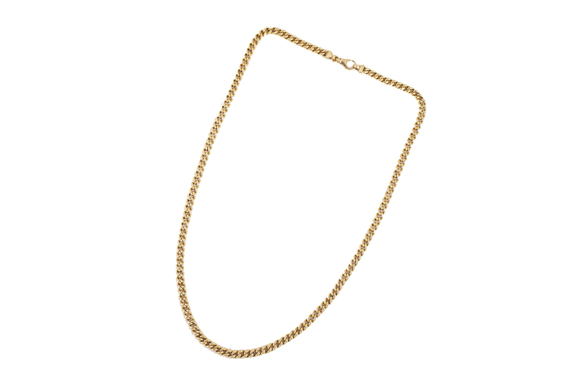 The Best Chain Necklaces For Men Bring The Flash Your Fits Have Been Regarding Most Current Classic Anchor Chain Necklaces (View 6 of 25)