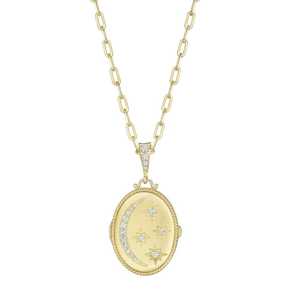 The Best Styles Of Jewelry To Wear With Your Winter Wardrobe With Newest Family Script Locket Element Necklaces (View 17 of 25)