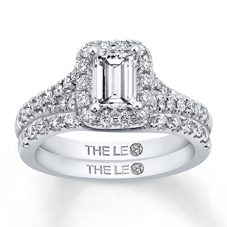 The Collection – The Leo Diamond Regarding Newest Diamond Bold Five Stone Anniversary Bands In White Gold (View 18 of 25)