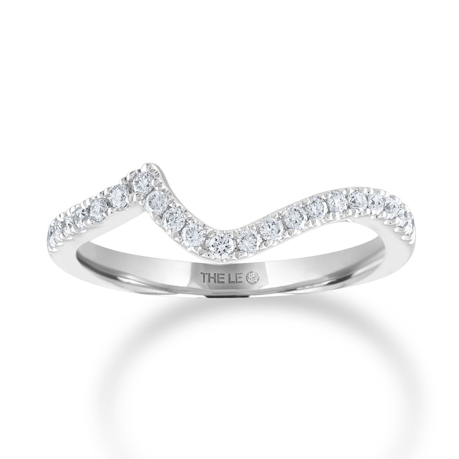 The Collection – The Leo Diamond Within Most Up To Date Diamond Frame Five Stone Anniversary Bands In White Gold (View 9 of 25)
