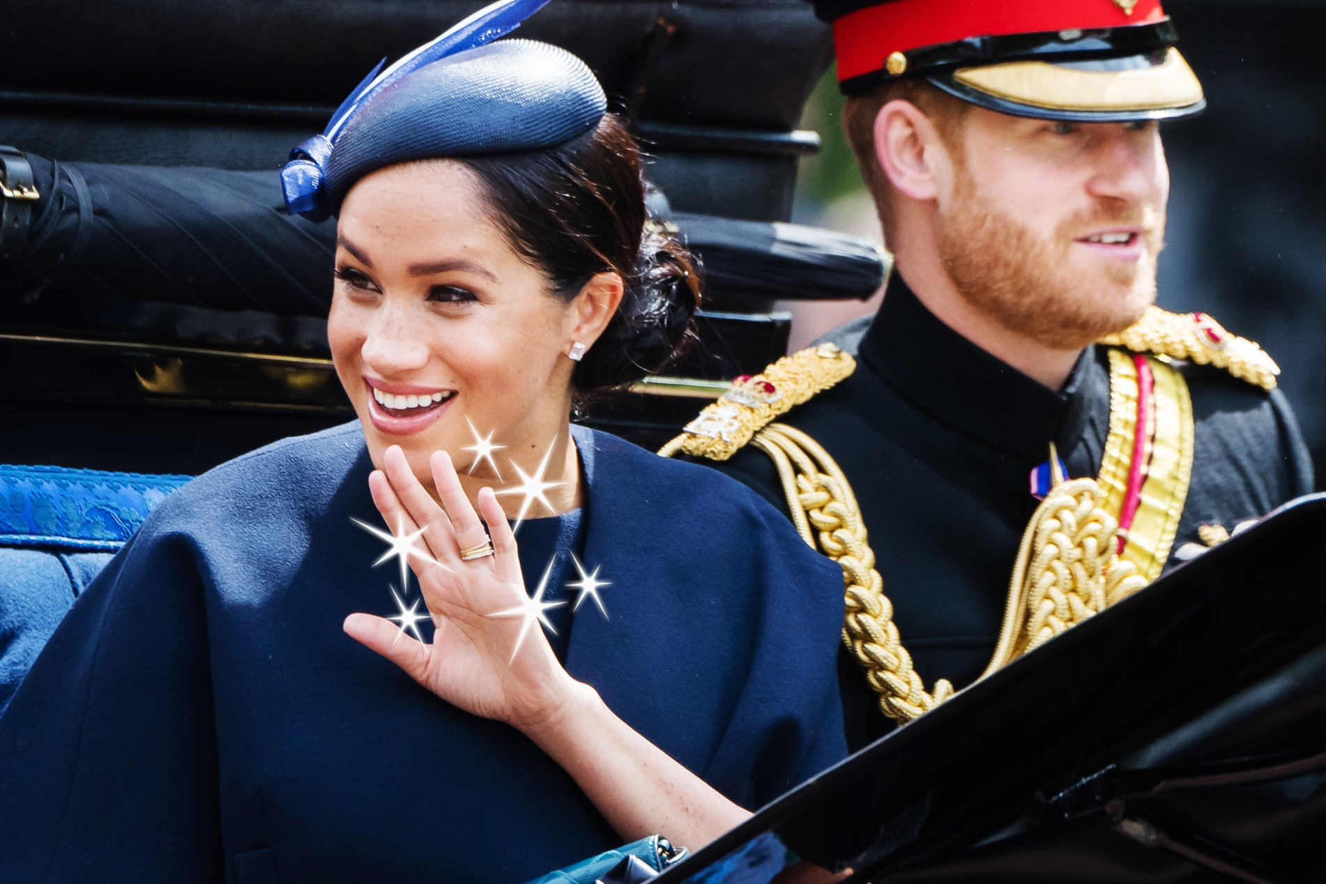 The Less Than Eternal Tradition Behind Meghan And Kate's Beloved For Newest Simple Sparkling Band Rings (View 23 of 25)