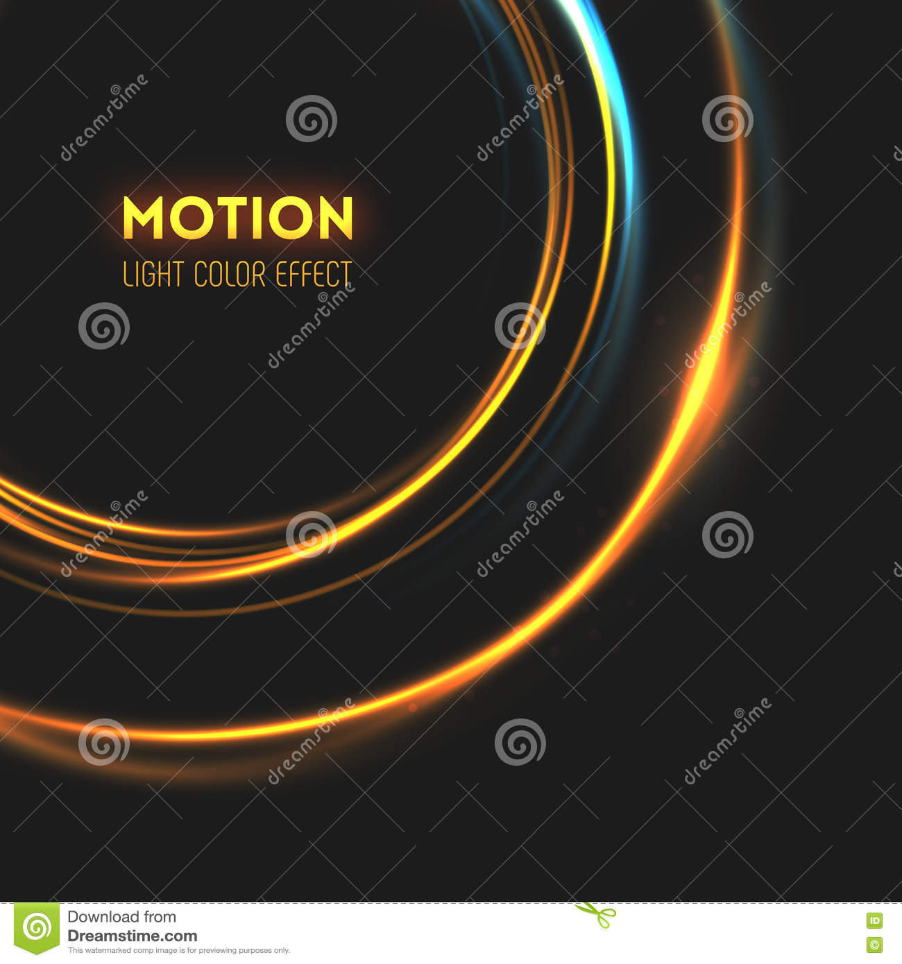 The Tornado Of Light With Sparkling Lines. Stock Vector For Current Swirling Lines Rings (Gallery 6 of 25)