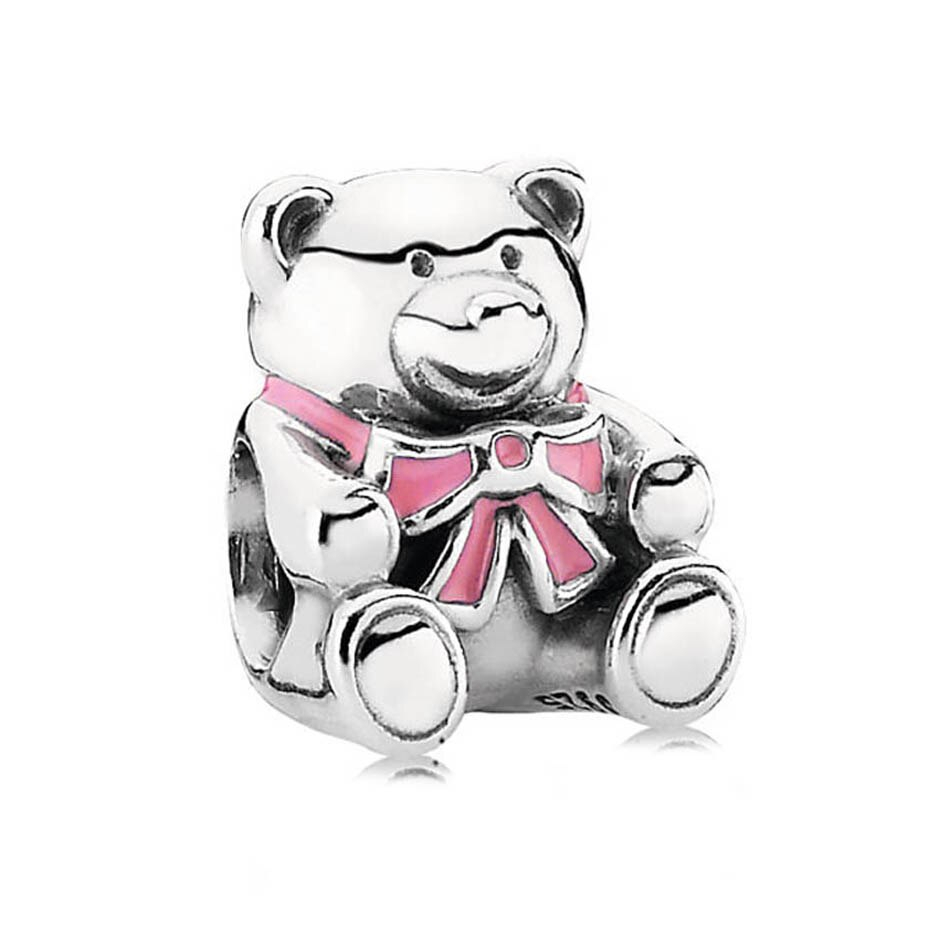 Theodore Bear Charm Christmas Stocking Bady Girl Boy Berry Teddy Bear Beads Fit Pandora Bracelets 925 Silver Diy Jewelry Throughout Most Recent Theodore Bear Pendant Necklaces (Gallery 19 of 25)