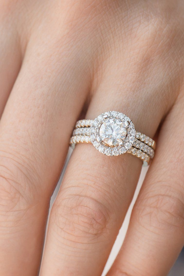 This Dazzling Diamond Halo Engagement Ring Is Stunning With 31 Inside Most Popular Sparkling Halo Rings (View 8 of 25)