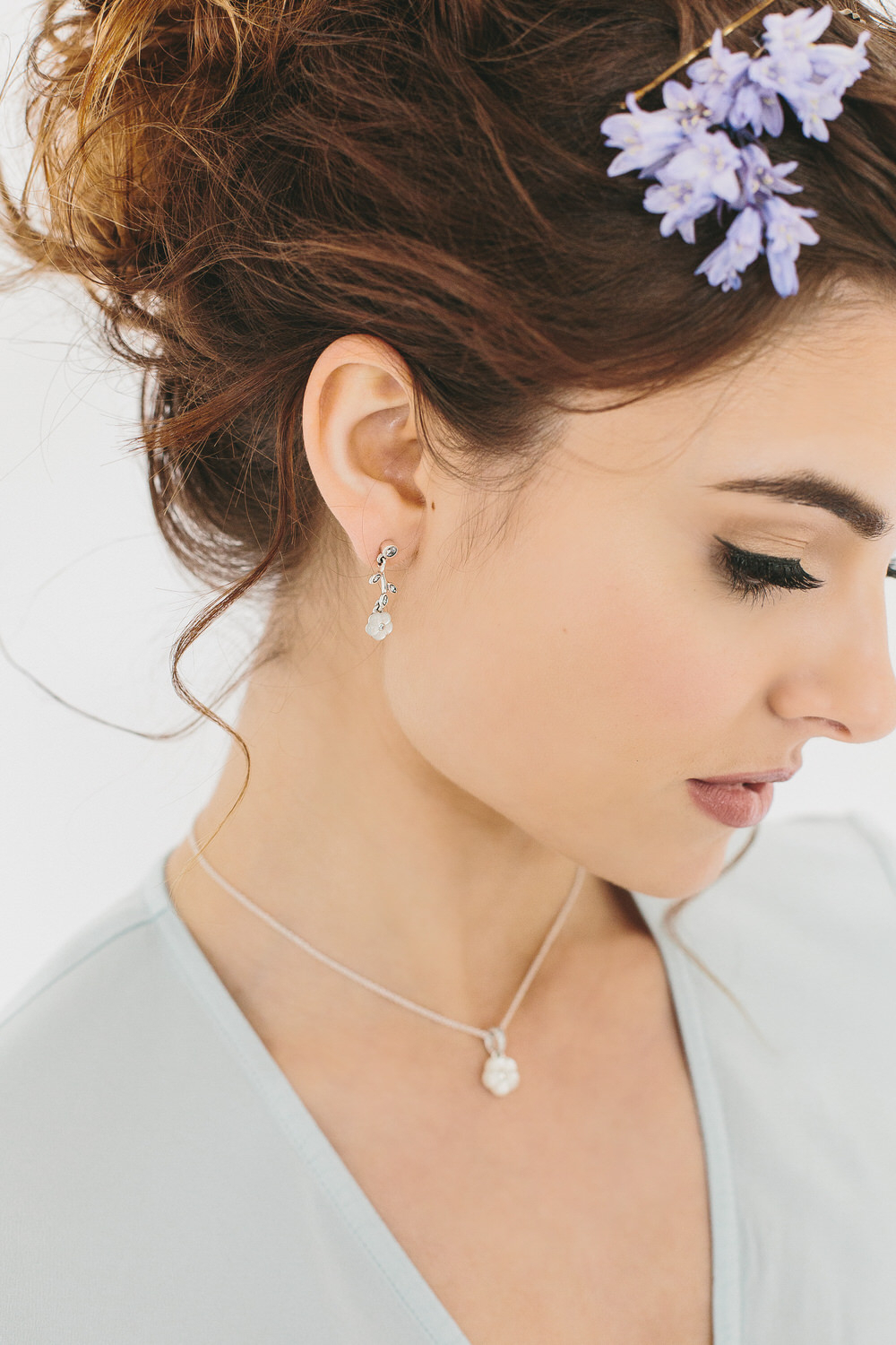 Three Bridesmaids Trends We Love – Rock My Wedding | Uk Wedding Blog Pertaining To Most Recent Luminous Florals Pendant Necklaces (View 22 of 25)