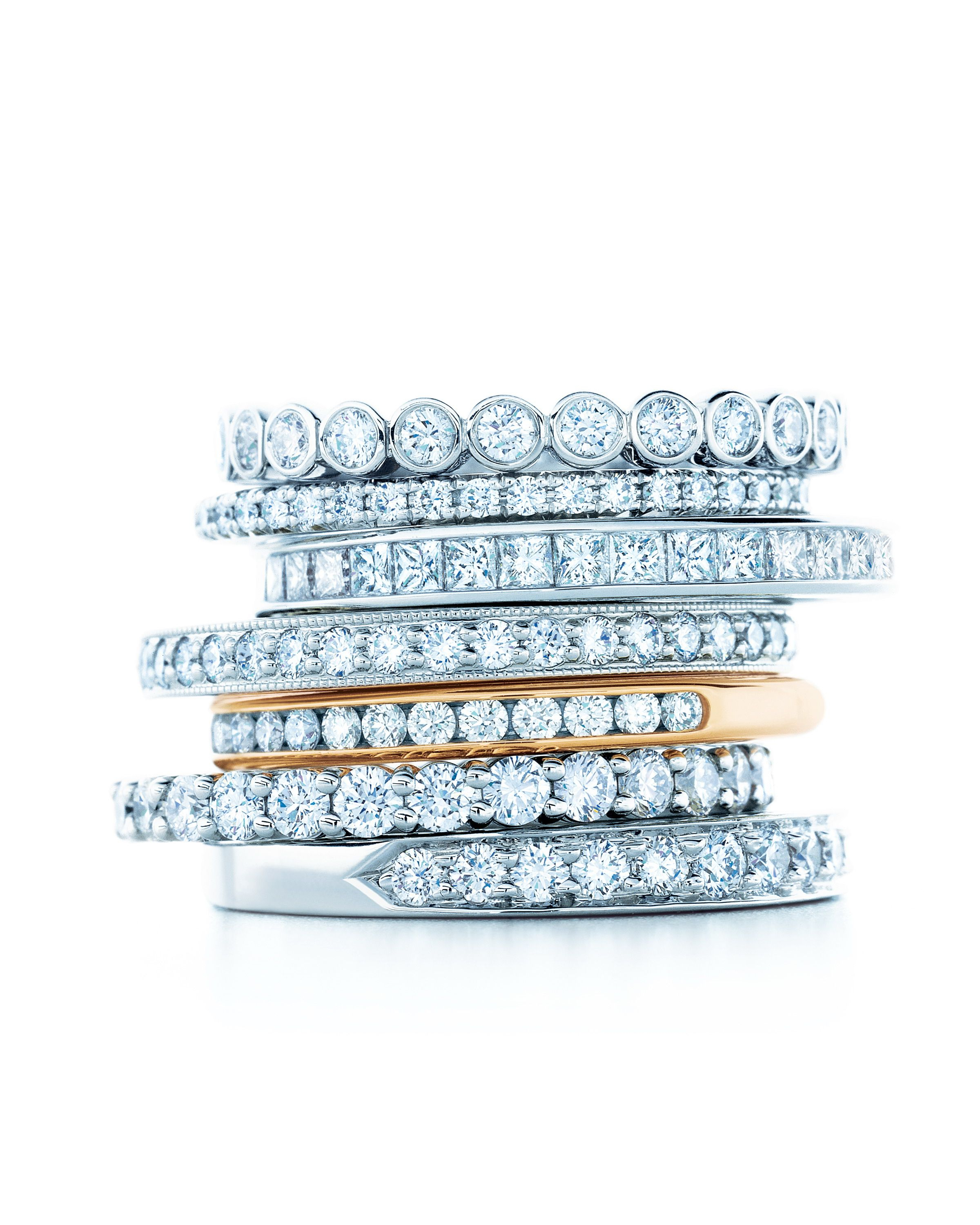 Tiffany Celebration Ring Stack (View 22 of 25)