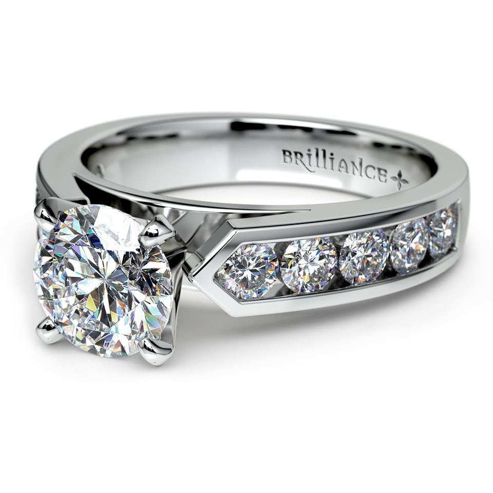 Top Five Engagement Ring Settings To Consider – The With Newest Diamond Five Stone Swirl Anniversary Bands In White Gold (Gallery 20 of 25)