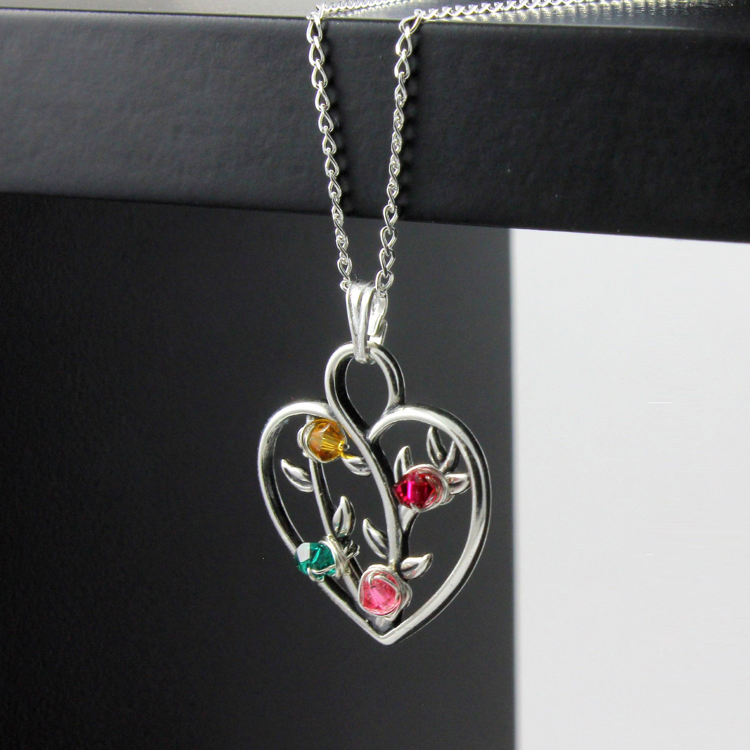 Tree Of Life Pendant – Mother's Day Gift – Heart Pendant With Custom Regarding Most Up To Date Family Tree Heart Pendant Necklaces (View 11 of 25)