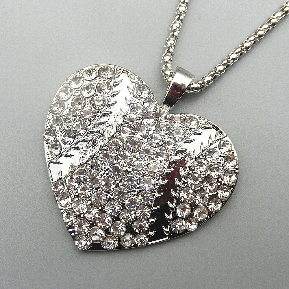 Uniquely U Jewelry :: With Most Recently Released Sparkling Lioness Heart Pendant Necklaces (View 24 of 25)